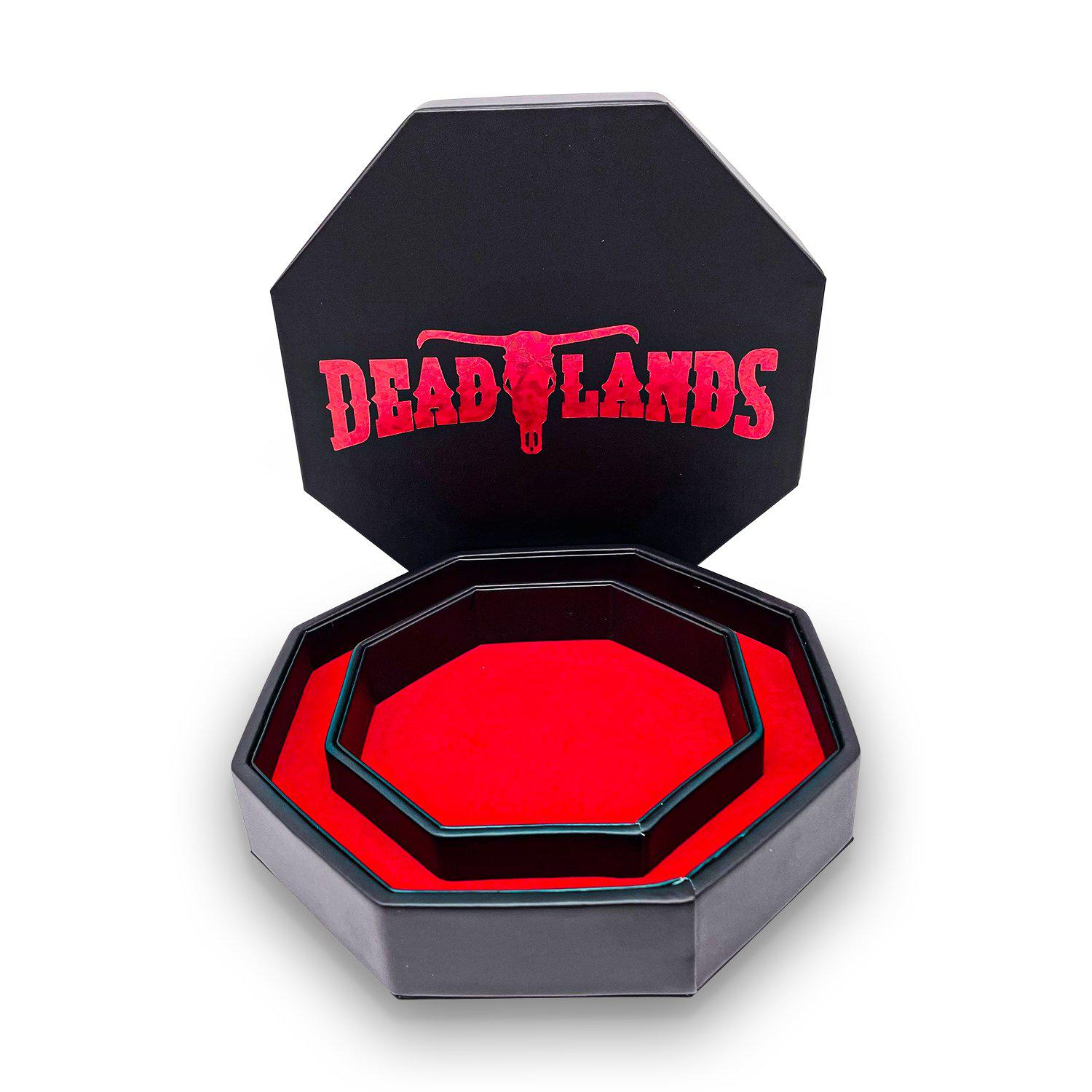 Red Deadlands Tray of Holding™ Dice Tray by Norse Foundry