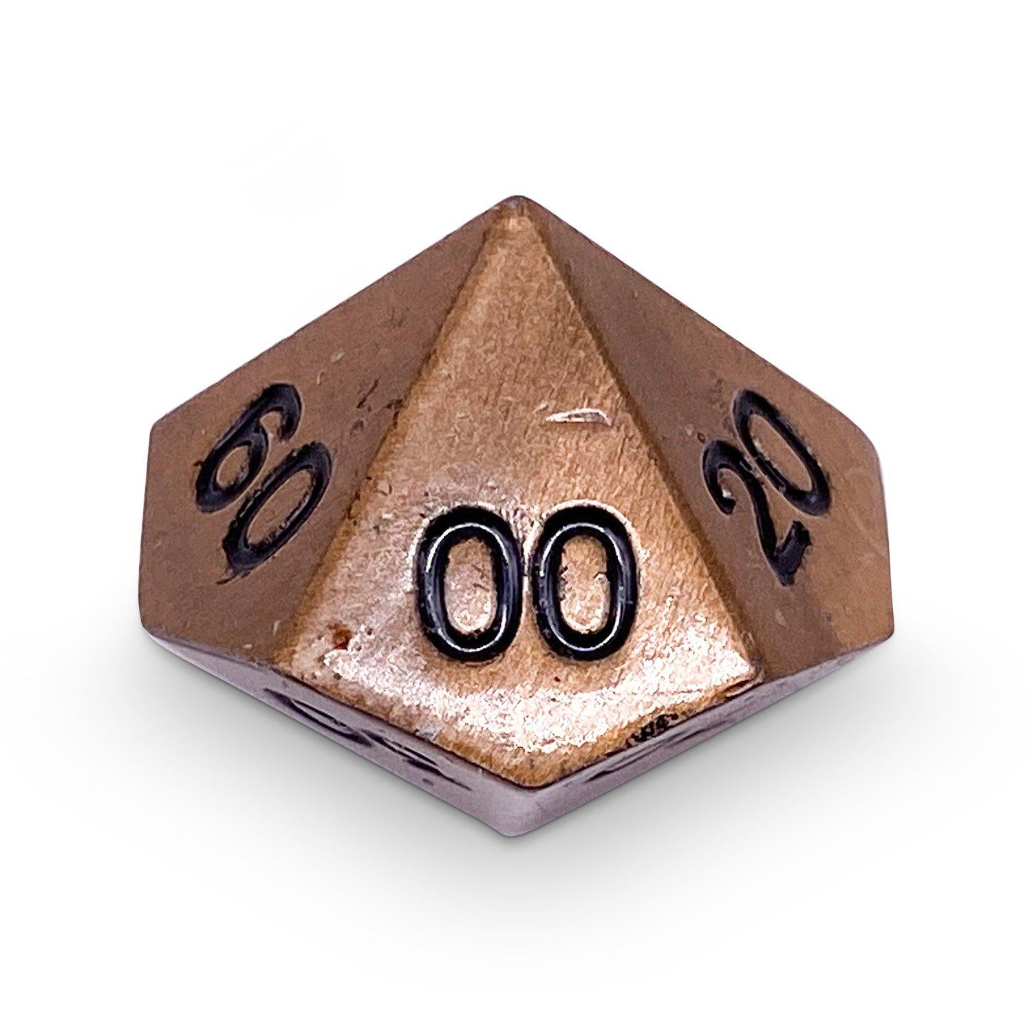 Single Alloy Percentile D10 in Gnomish Copper by Norse Foundry