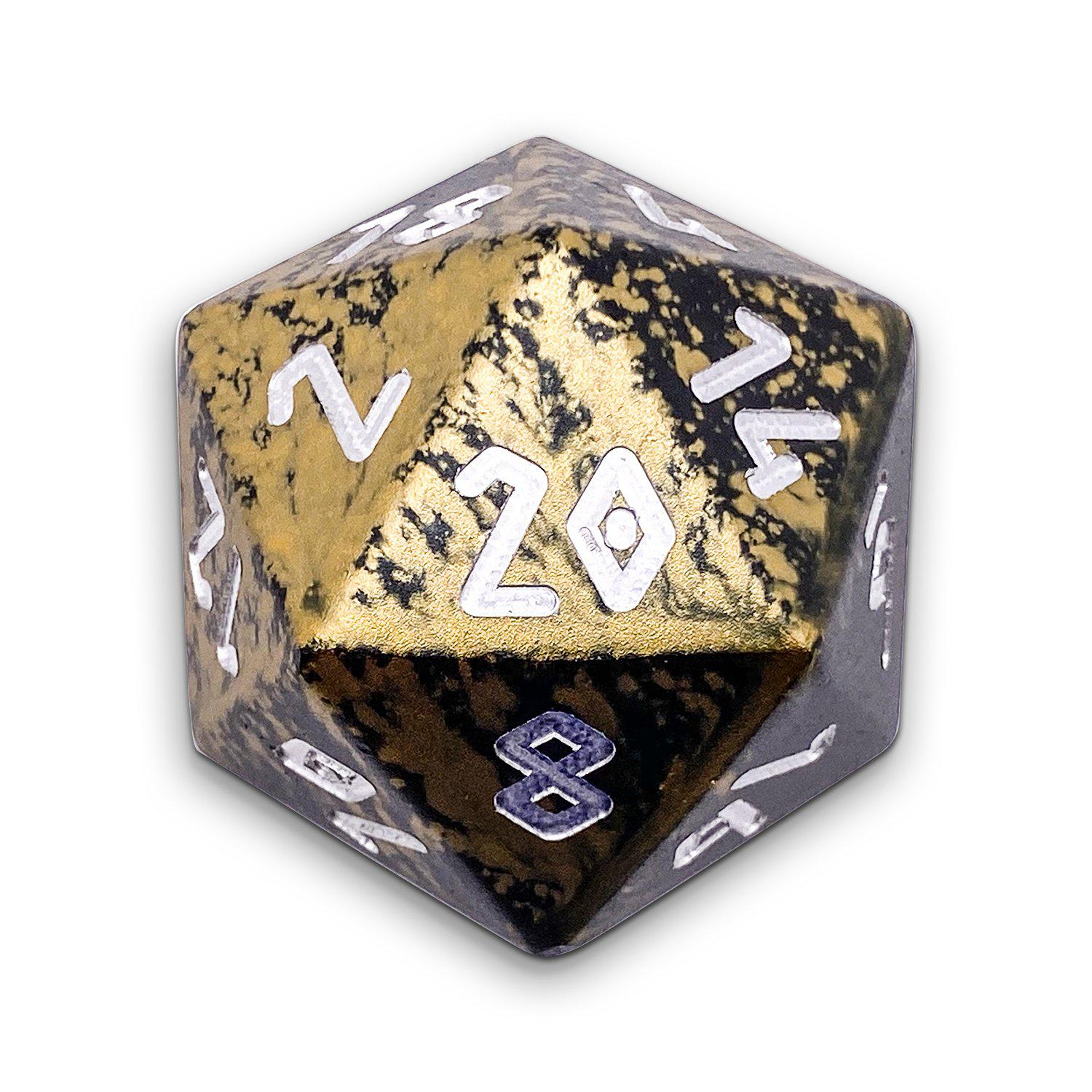 The Great Void - Wondrous Boulder® 55mm D20 6063 Aircraft Grade Aluminum Metal Die