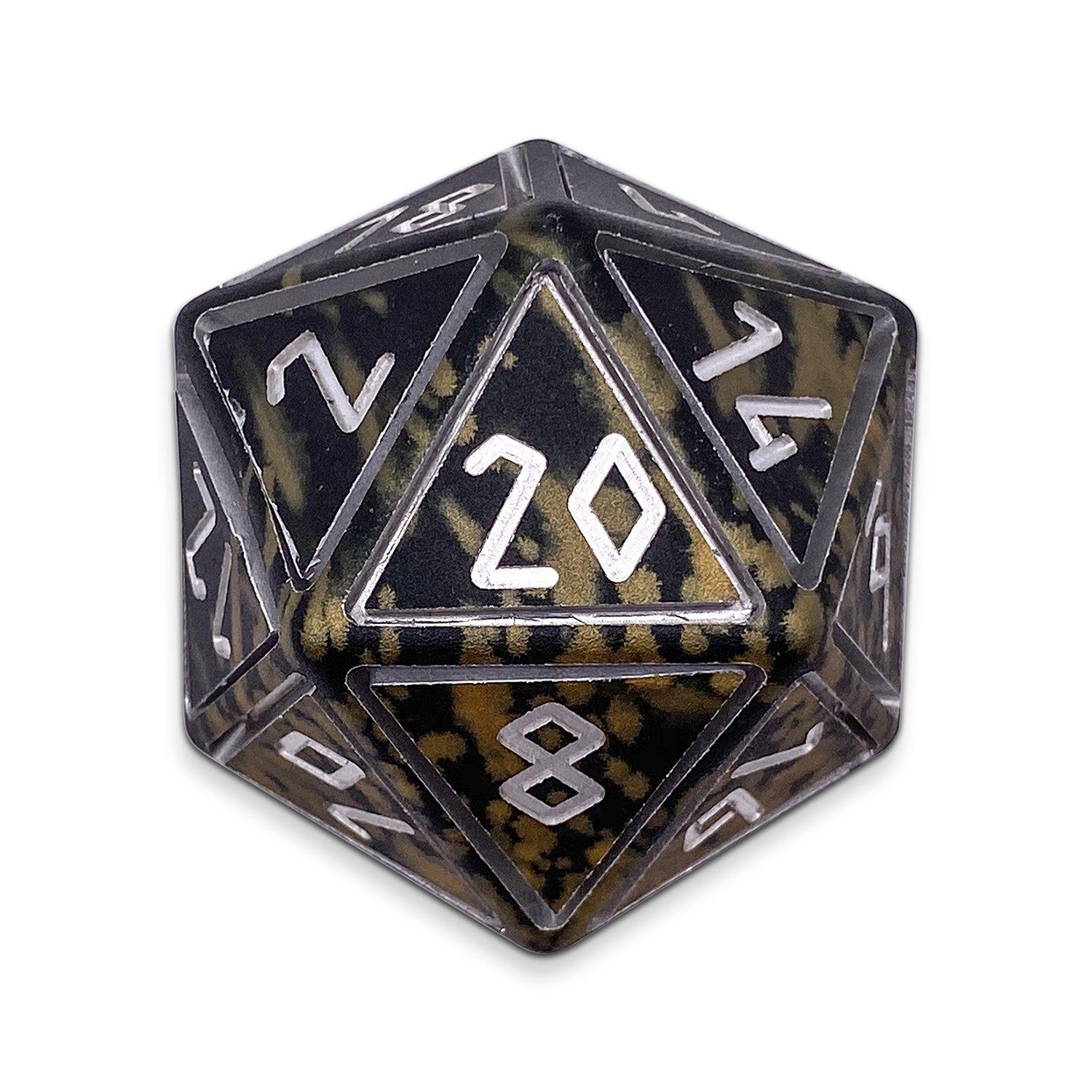 Great Void- Wondrous Nimbus Boulder® 55mm D20 6063 Aircraft Grade Aluminum Metal Die