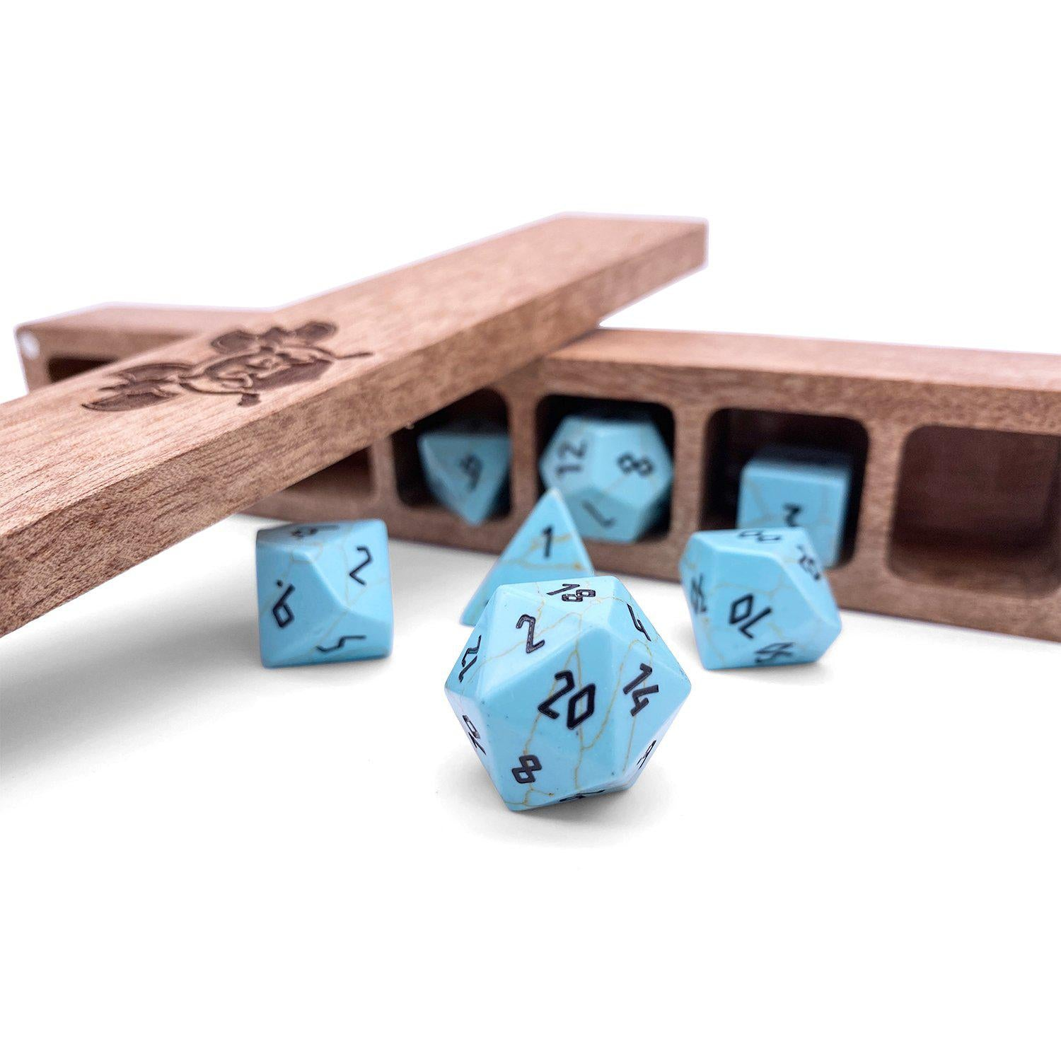 Norse Foundry White Oak Wooden Dice Case