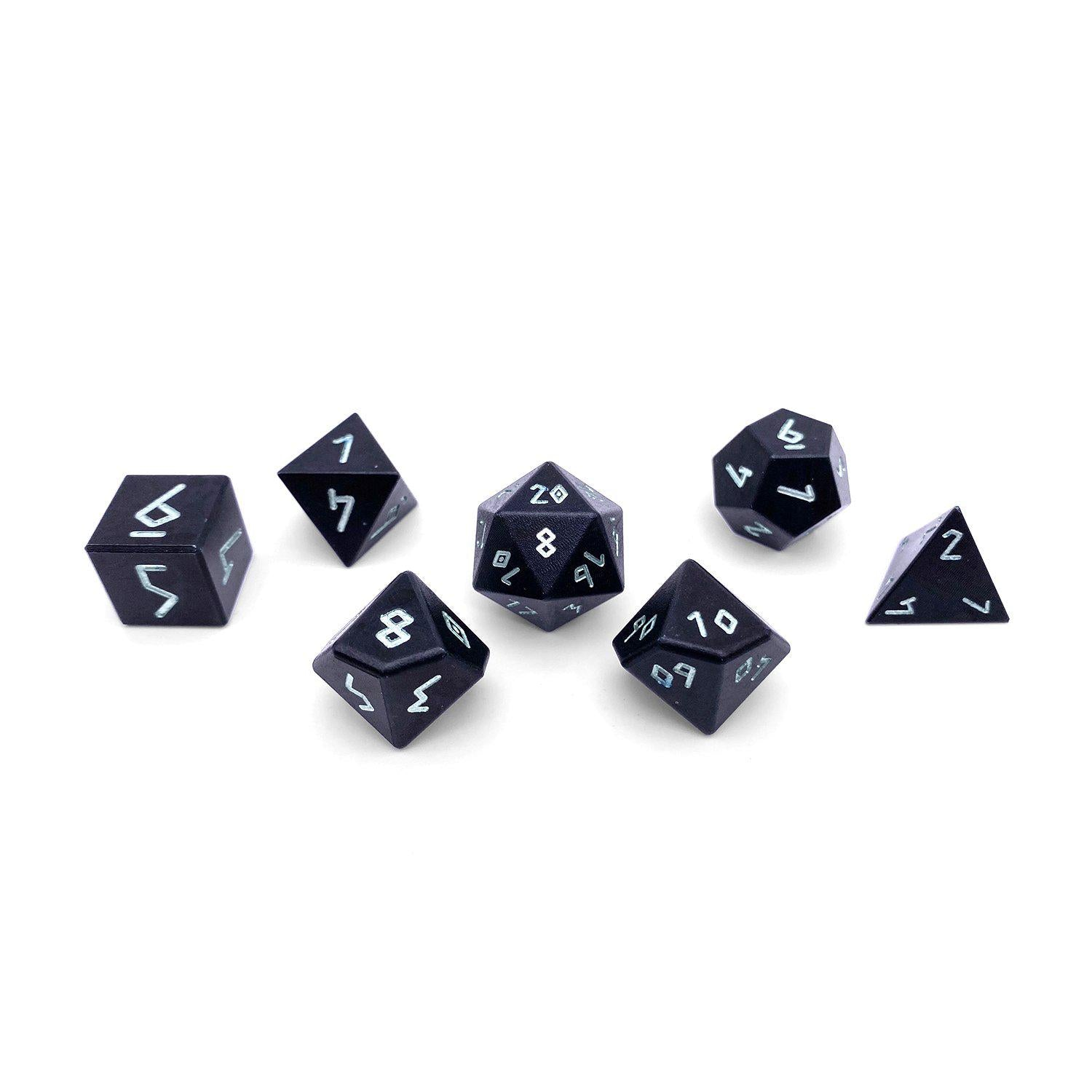 Orb Series - Orb of Venom - Set of 7 RPG Dice by Norse Foundry Precision Polyhedral Dice Set