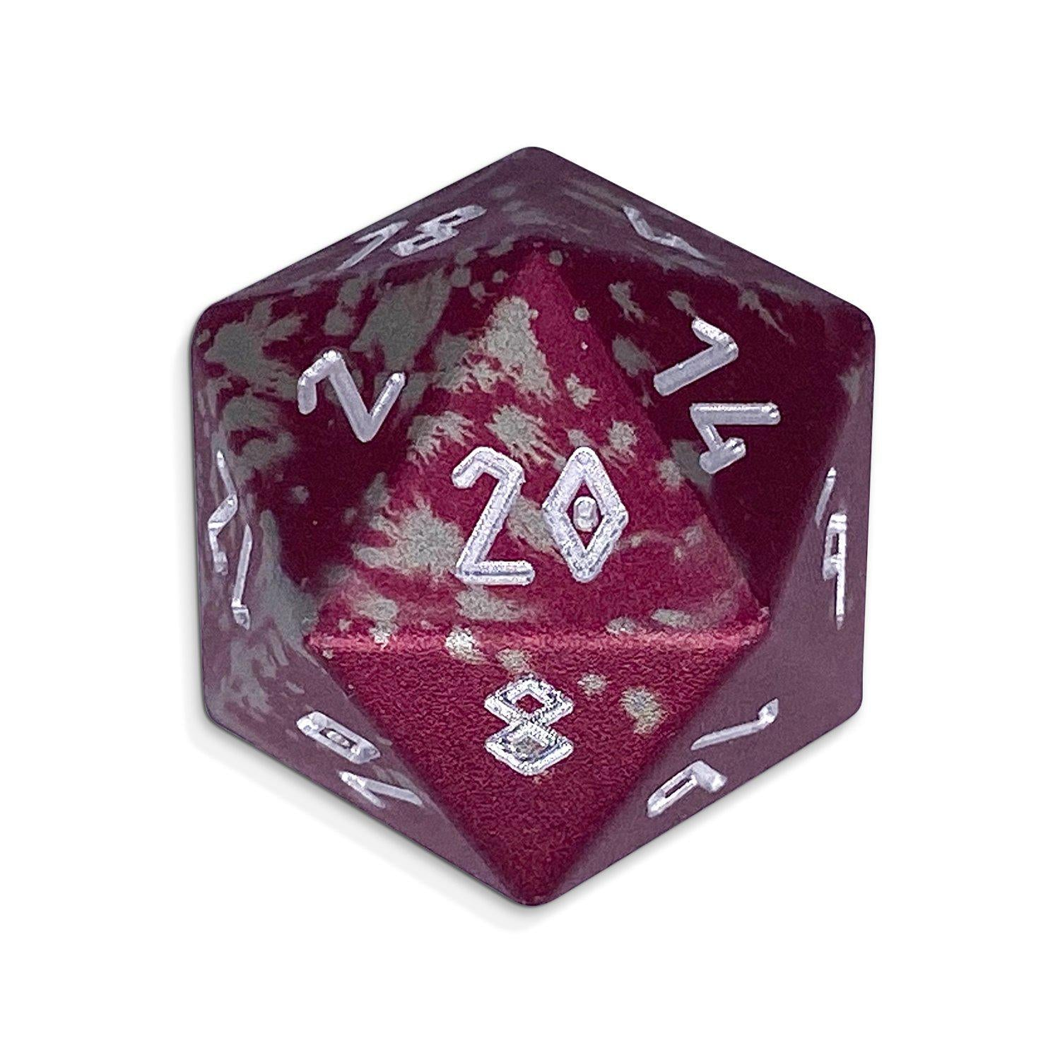 Single Wondrous Dice® D20 in Kraken by Norse Foundry 6063 Aircraft Grade Aluminum
