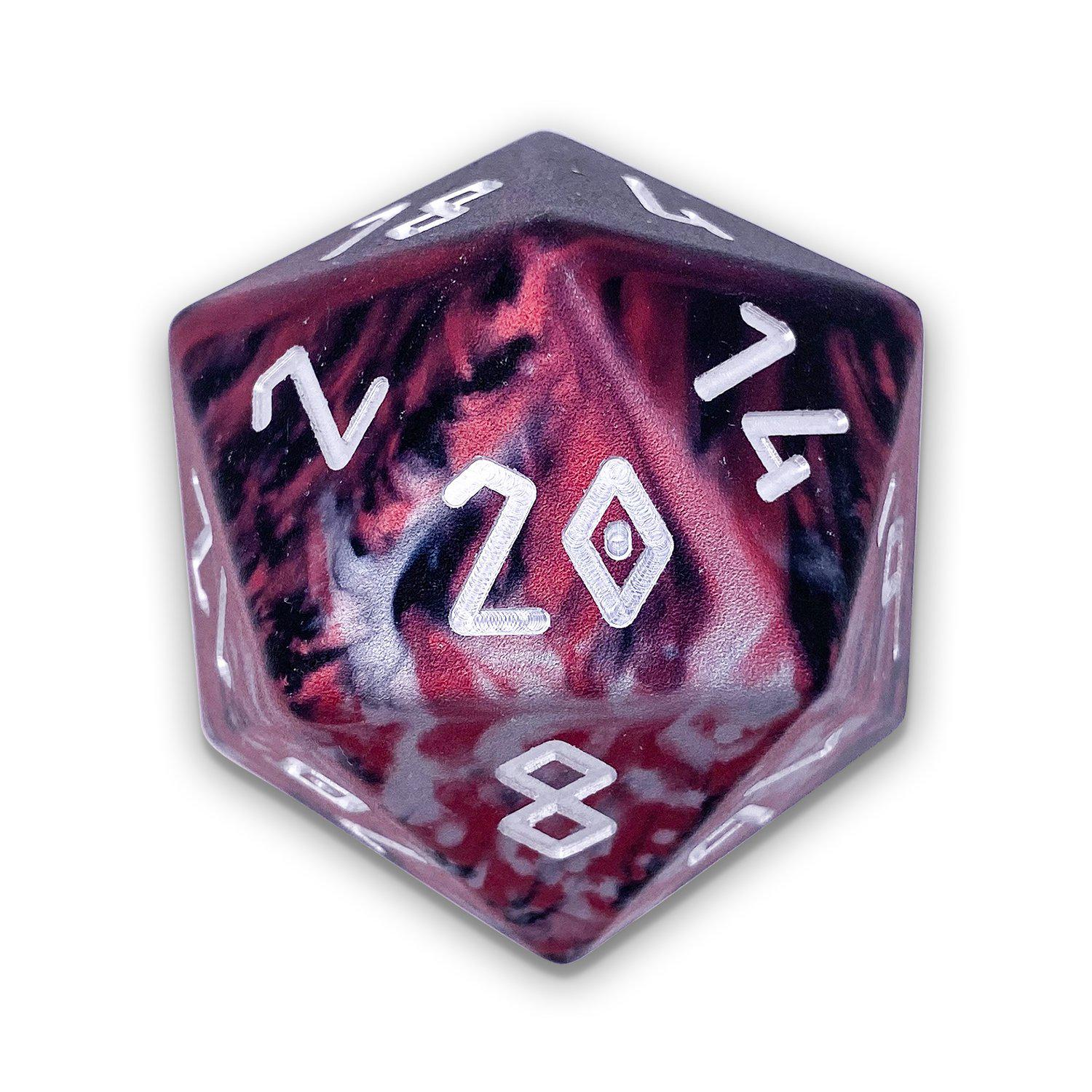 Lich King - Wondrous Boulder® 55mm D20 6063 Aircraft Grade Aluminum Metal Die