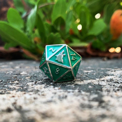 Medusas Gaze - Norse Themed Metal Dice Set
