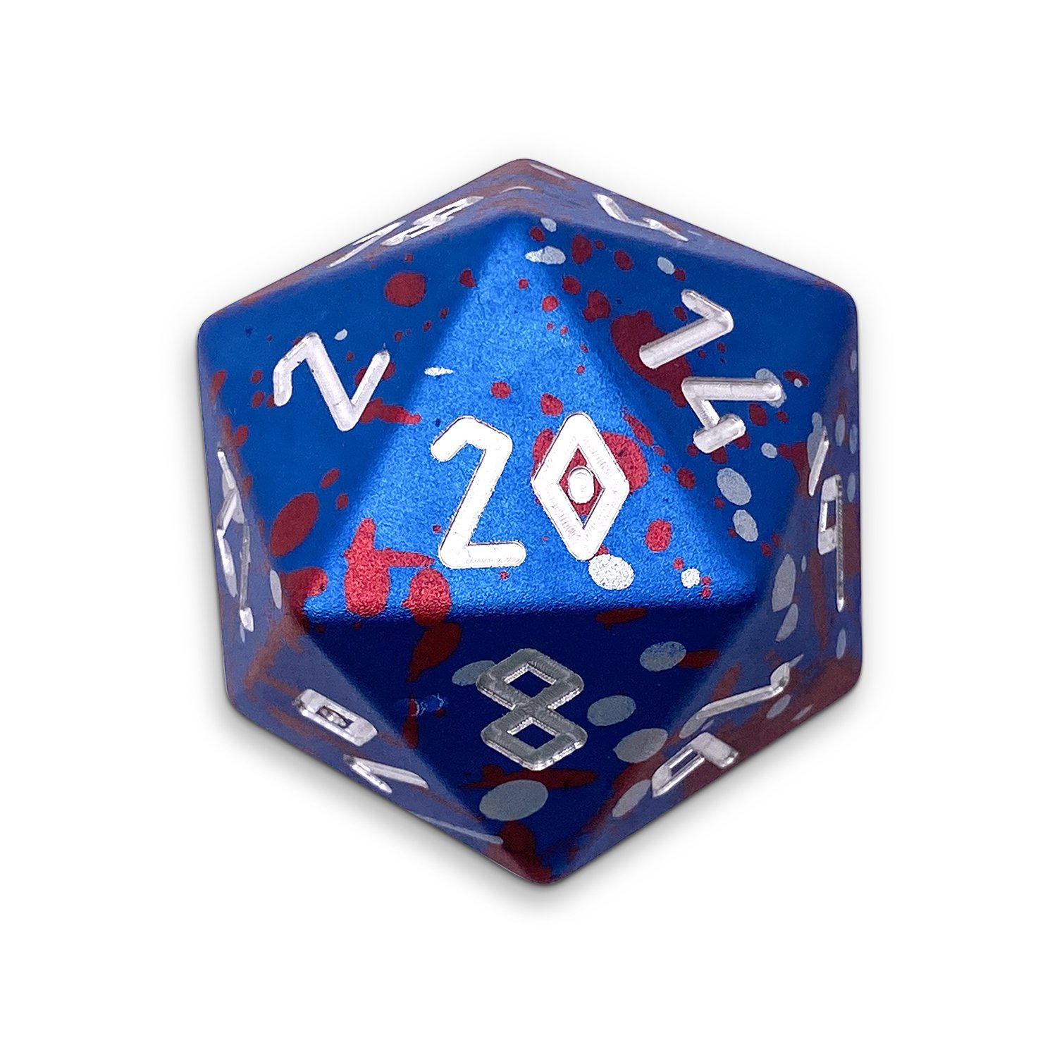Merchants Favour - Wondrous Boulder® 55mm D20 6063 Aircraft Grade Aluminum Metal Die