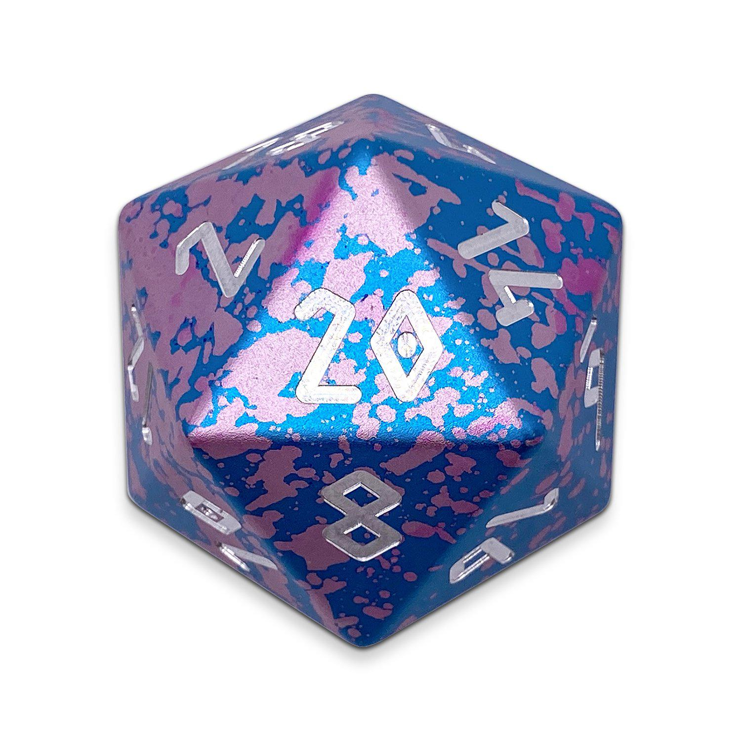 Miami Dice - Wondrous Boulder® 55mm D20 6063 Aircraft Grade Aluminum Metal Die