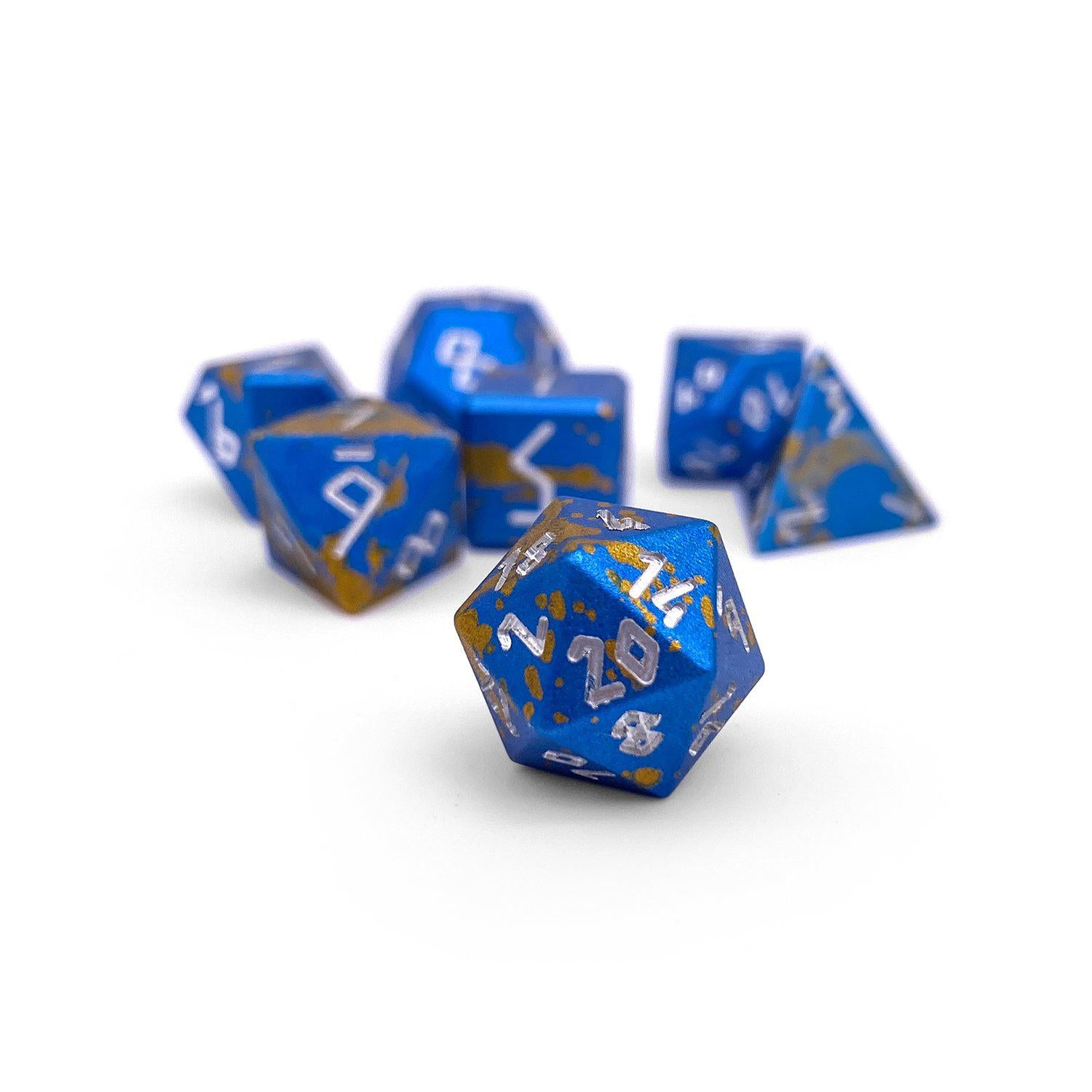 Mimic Wondrous Pebble ™ Dice - 10mm 6063 Aircraft Grade Aluminum Mini