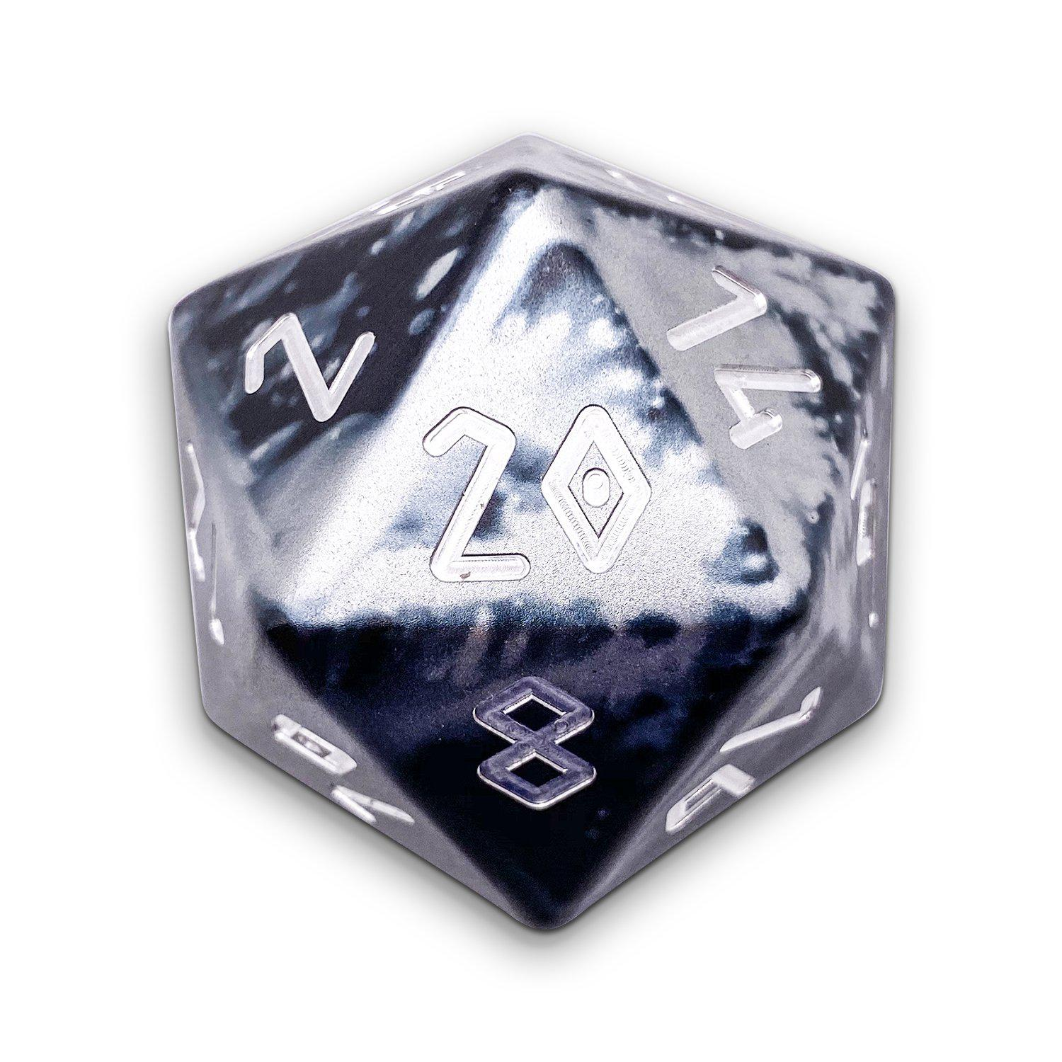 Mummy Lord - Wondrous Boulder® 55mm D20 6063 Aircraft Grade Aluminum Metal Die