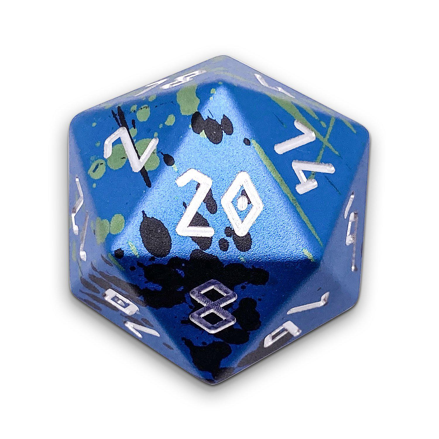 The Mystery Die TM - Wondrous Boulder® 55mm D20 6063 Aircraft Grade Aluminum Metal Die