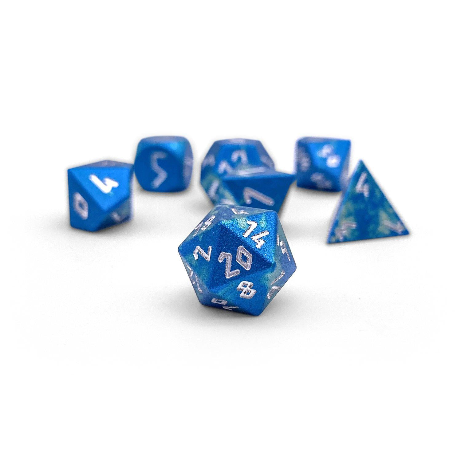 Bullywug Wondrous Pebble ™ Dice - 10mm 6063 Aircraft Grade Aluminum Mini