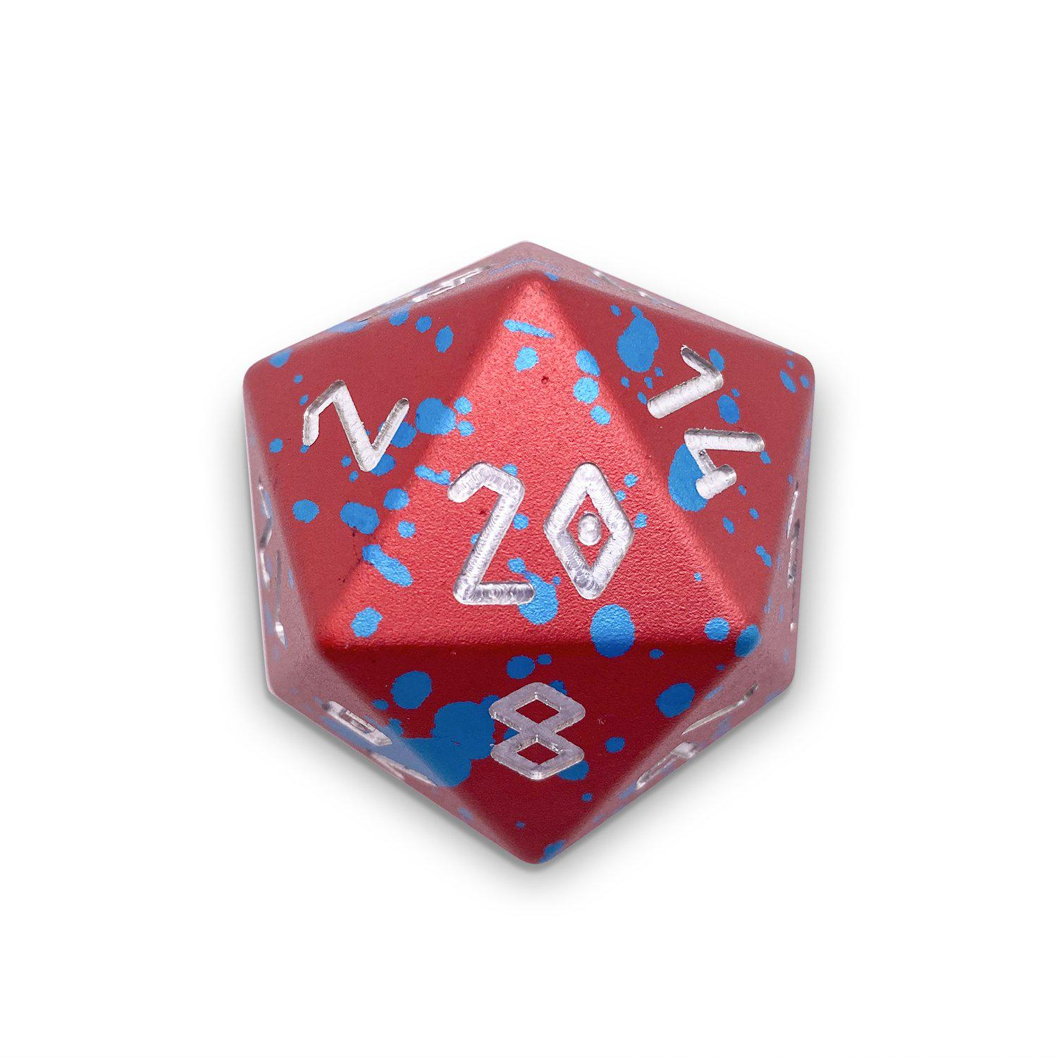 Old Glory- Wondrous Boulder® 55mm D20 6063 Aircraft Grade Aluminum Metal Die