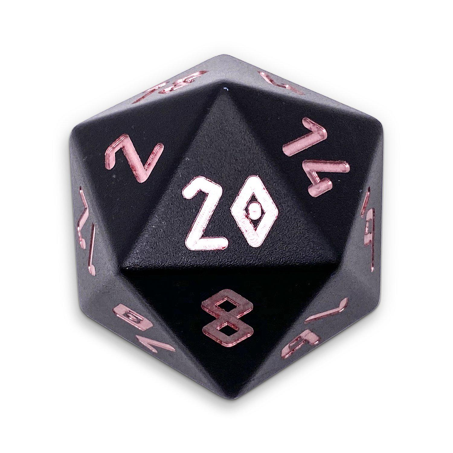 Orb of Annihilation - Wondrous Boulder® 55mm D20 6063 Aircraft Grade Aluminum Metal Die