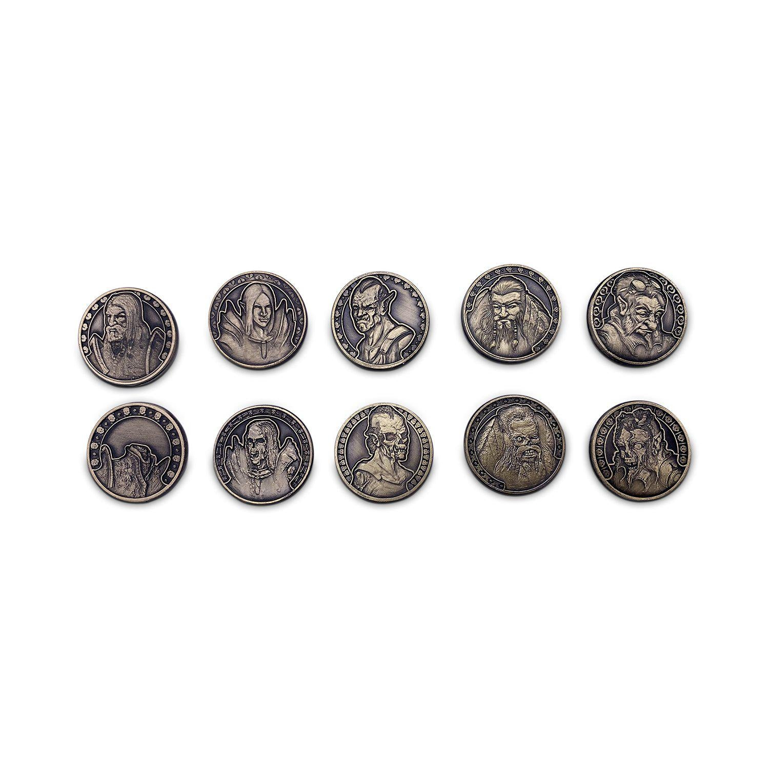 Adventure Coins - Life or Death Coins Set of 10