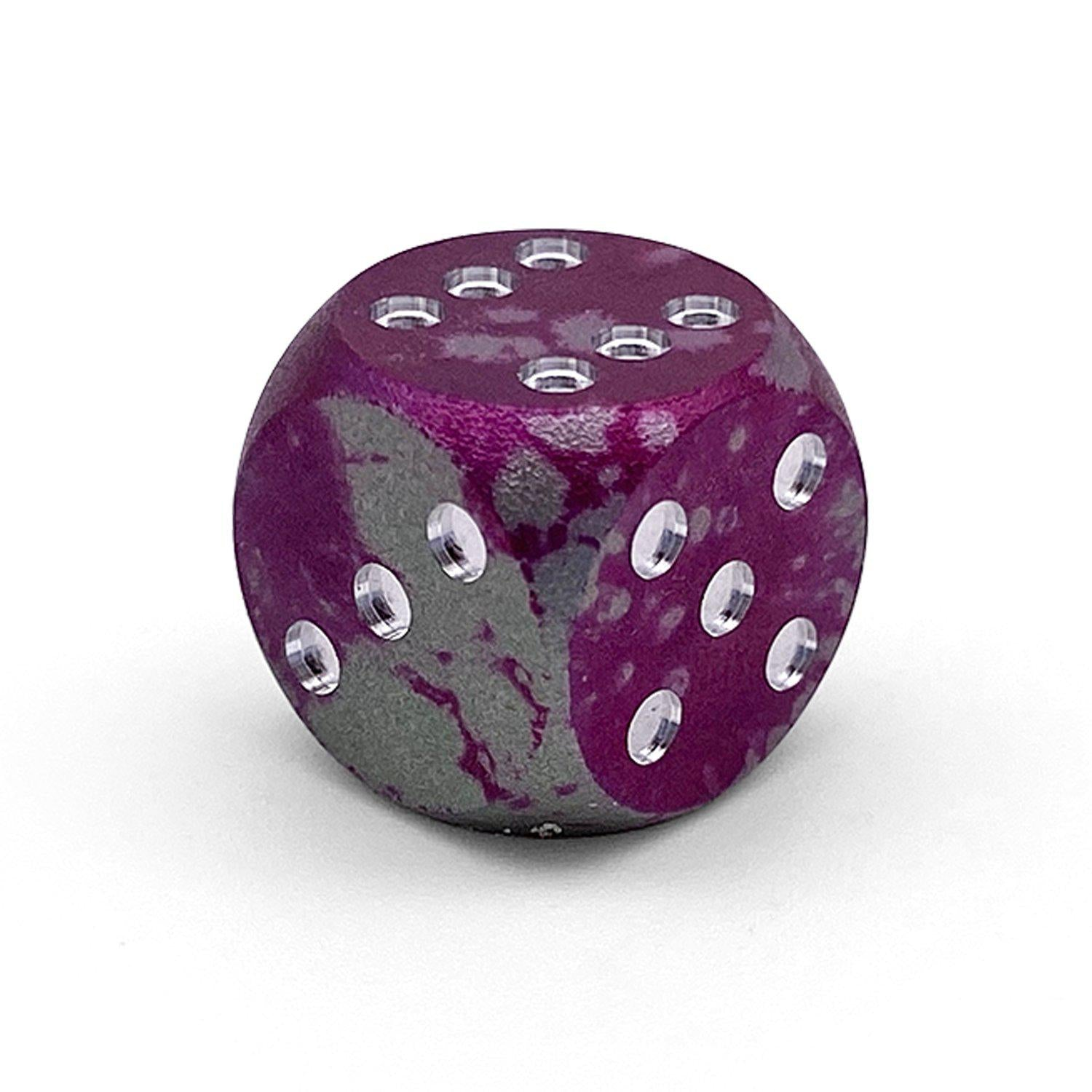 Single Wondrous D6 Mini Pips - Round Edges - Kraken