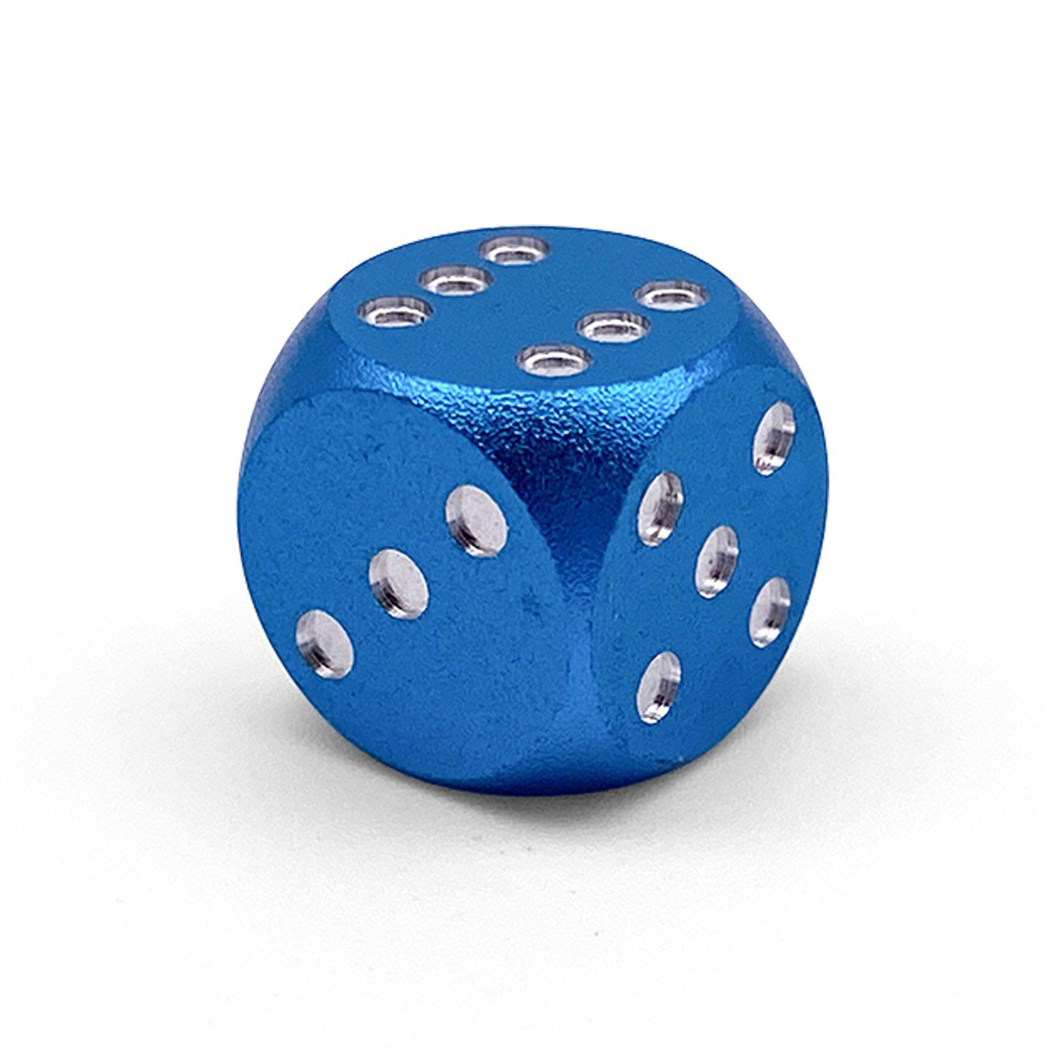 Single Aluminum D6 Mini - Round Edges - Sea Teal