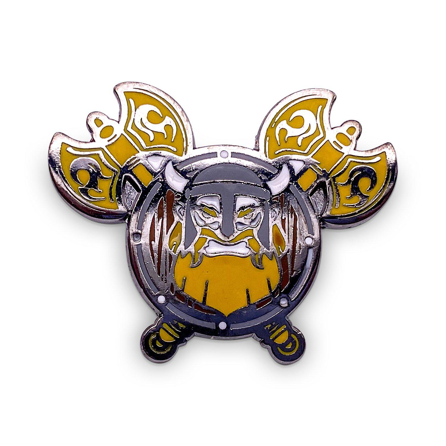 Norse Foundry Viking - Hard Enamel Adventure Pin Metal by Norse Foundry
