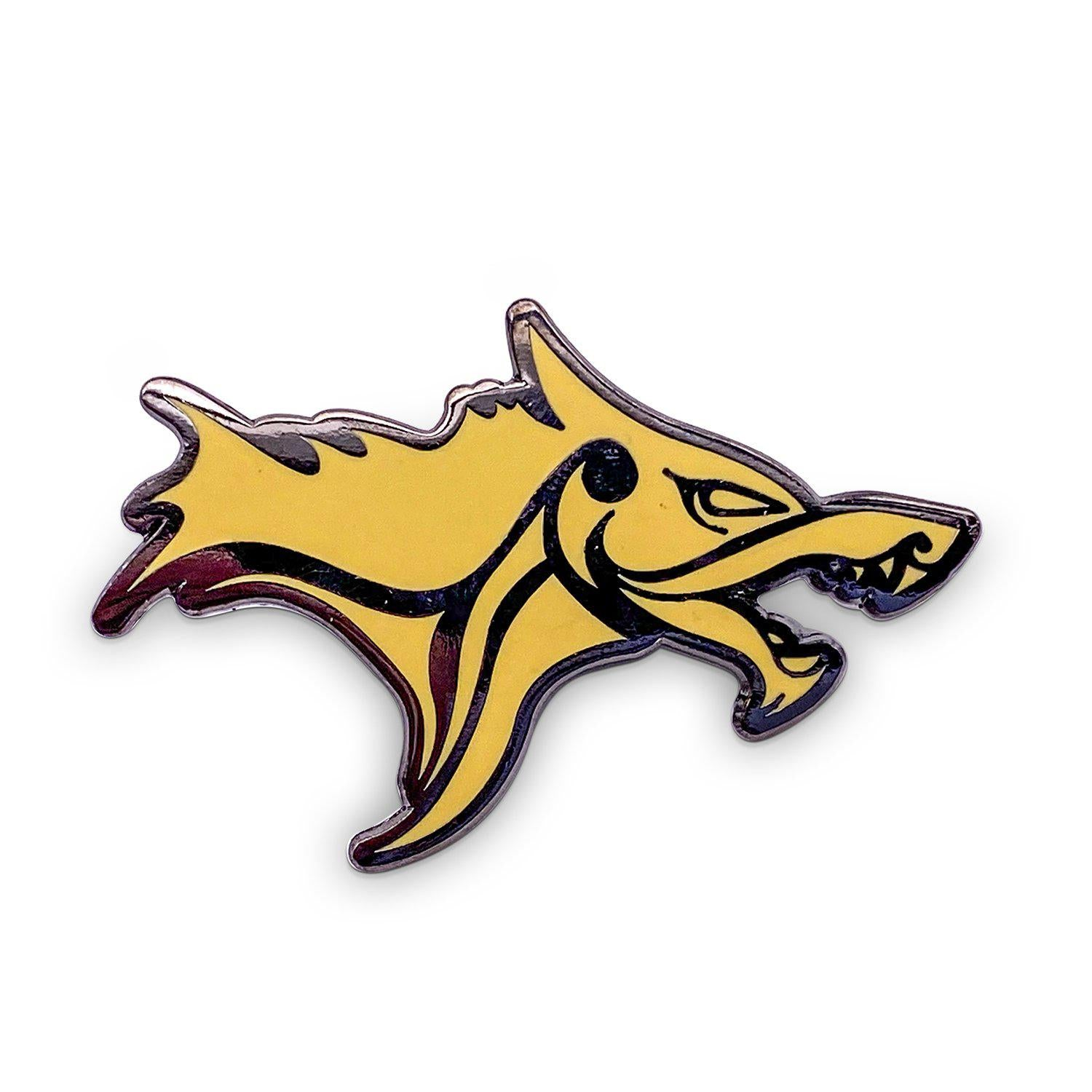 Norse Foundry Wolf - Hard Enamel Adventure Pin Metal by Norse Foundry