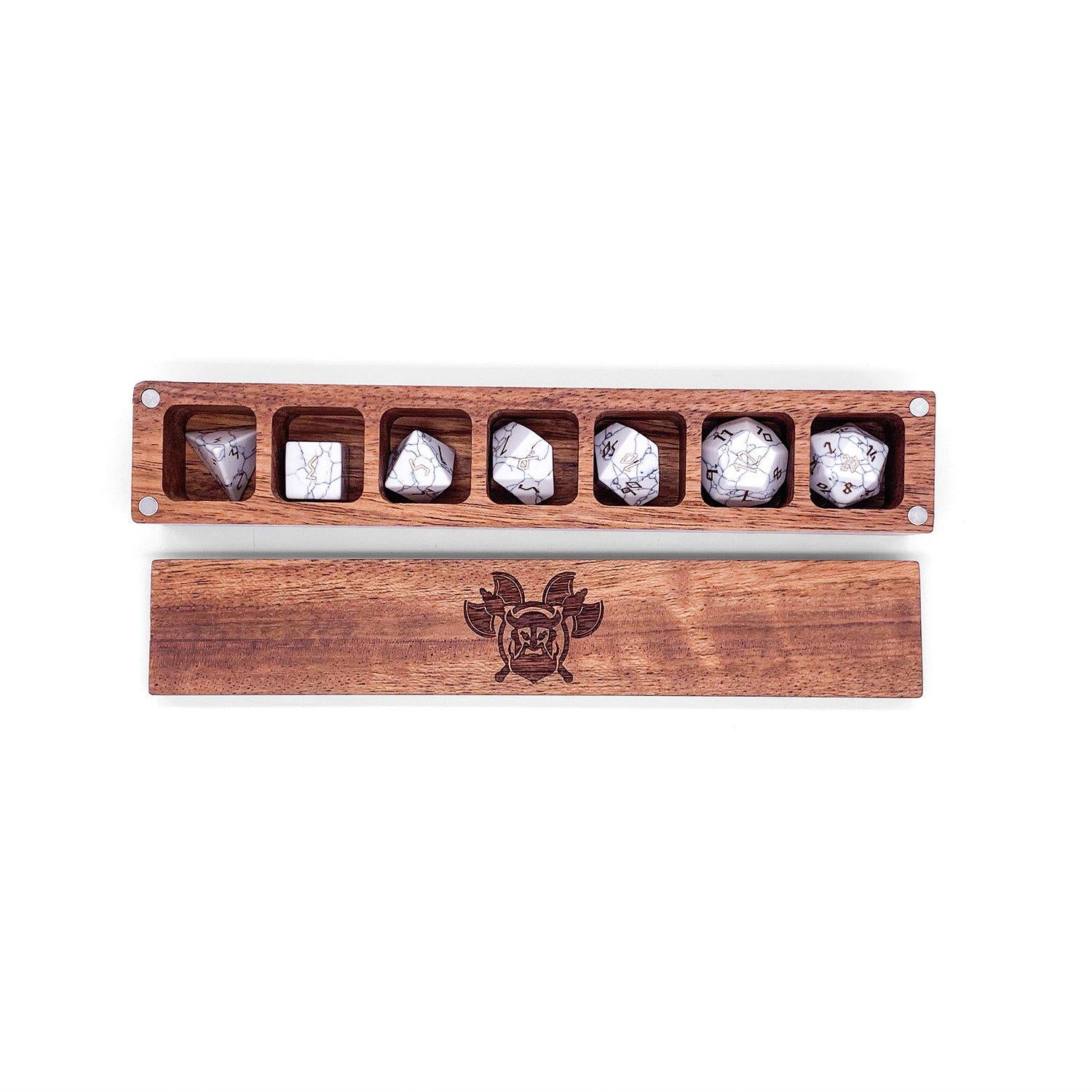 Norse Foundry Cherry Wooden Dice Case