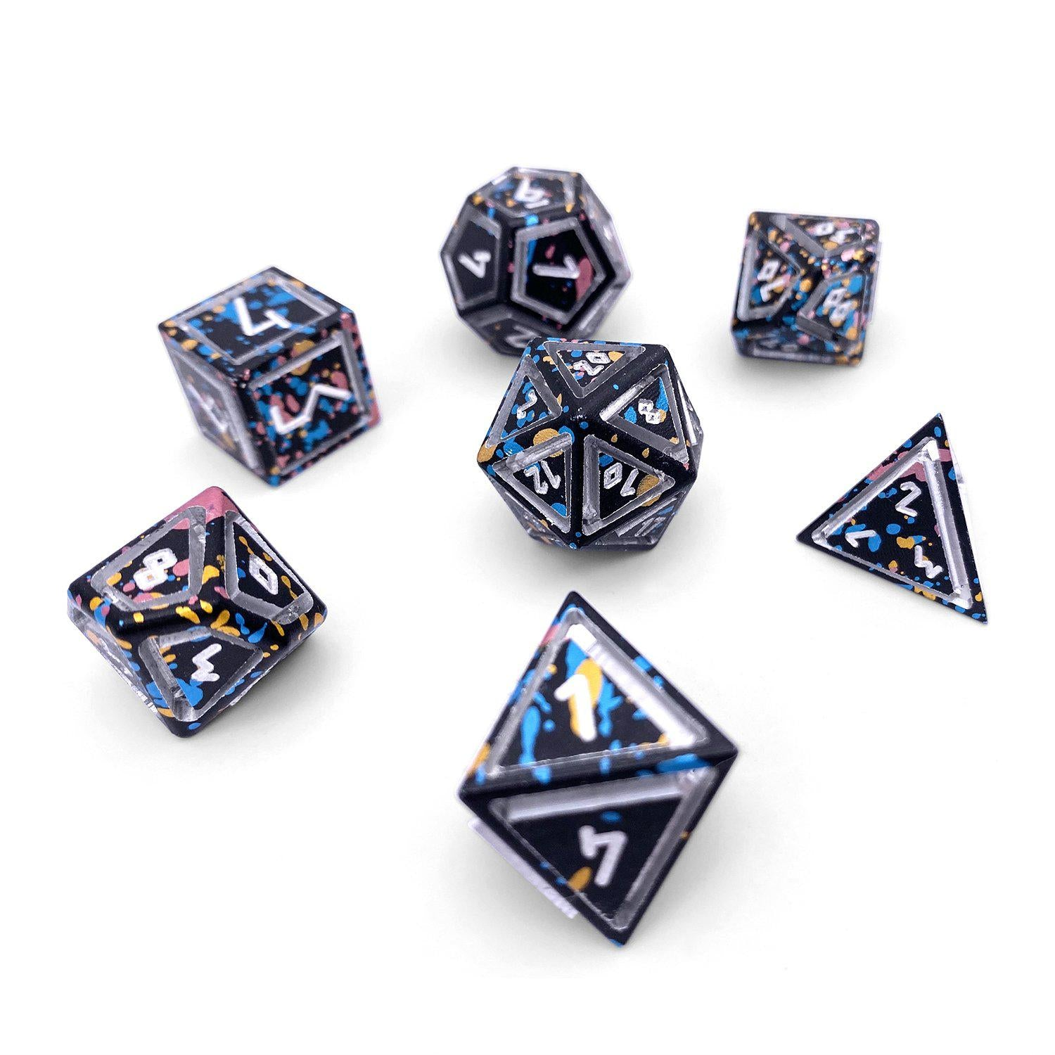Nimbus Wondrous Precision CNC Aluminum Dice Set - That 70s Die