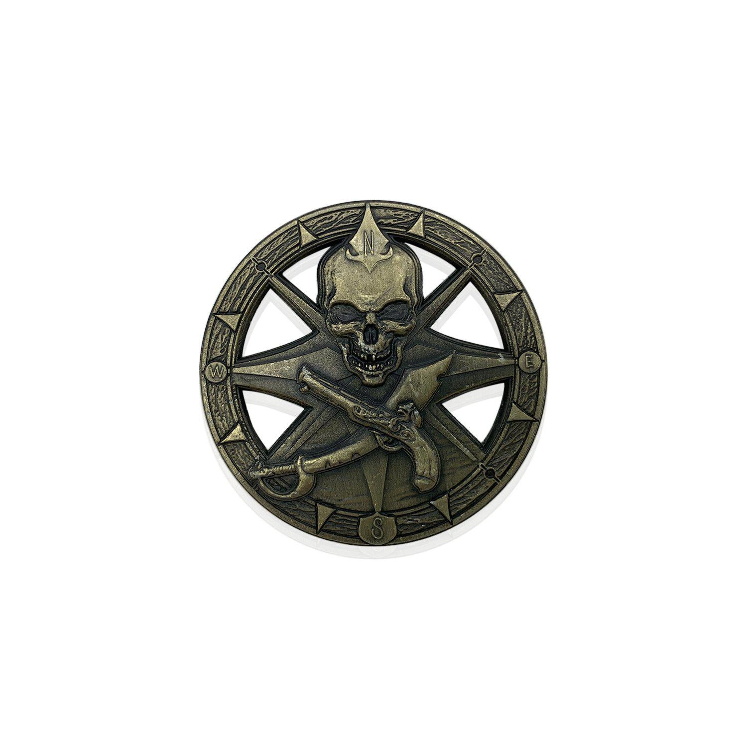 Pirate Compass Rose 50mm Metal