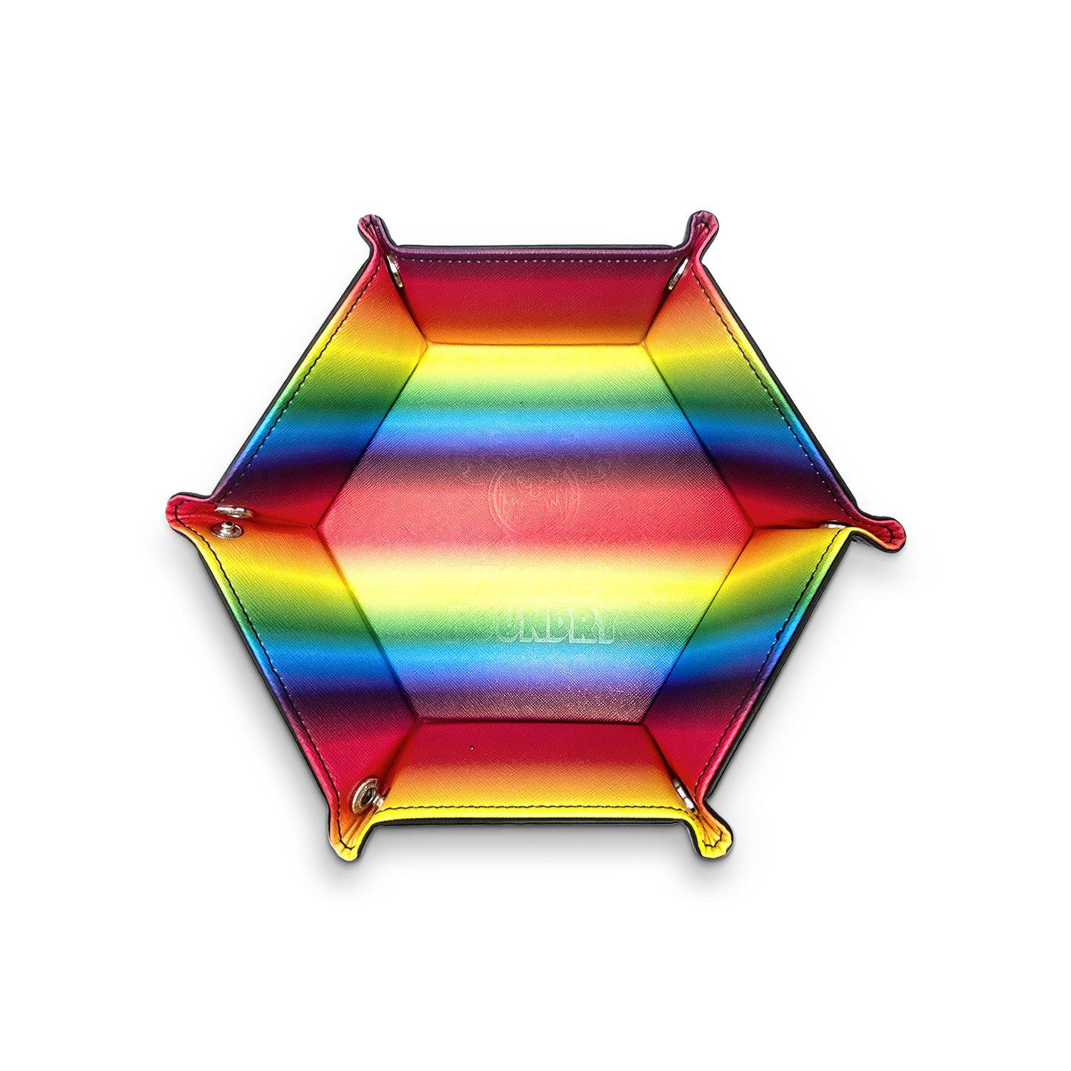 Tray of Folding - Rainbow Leatherette