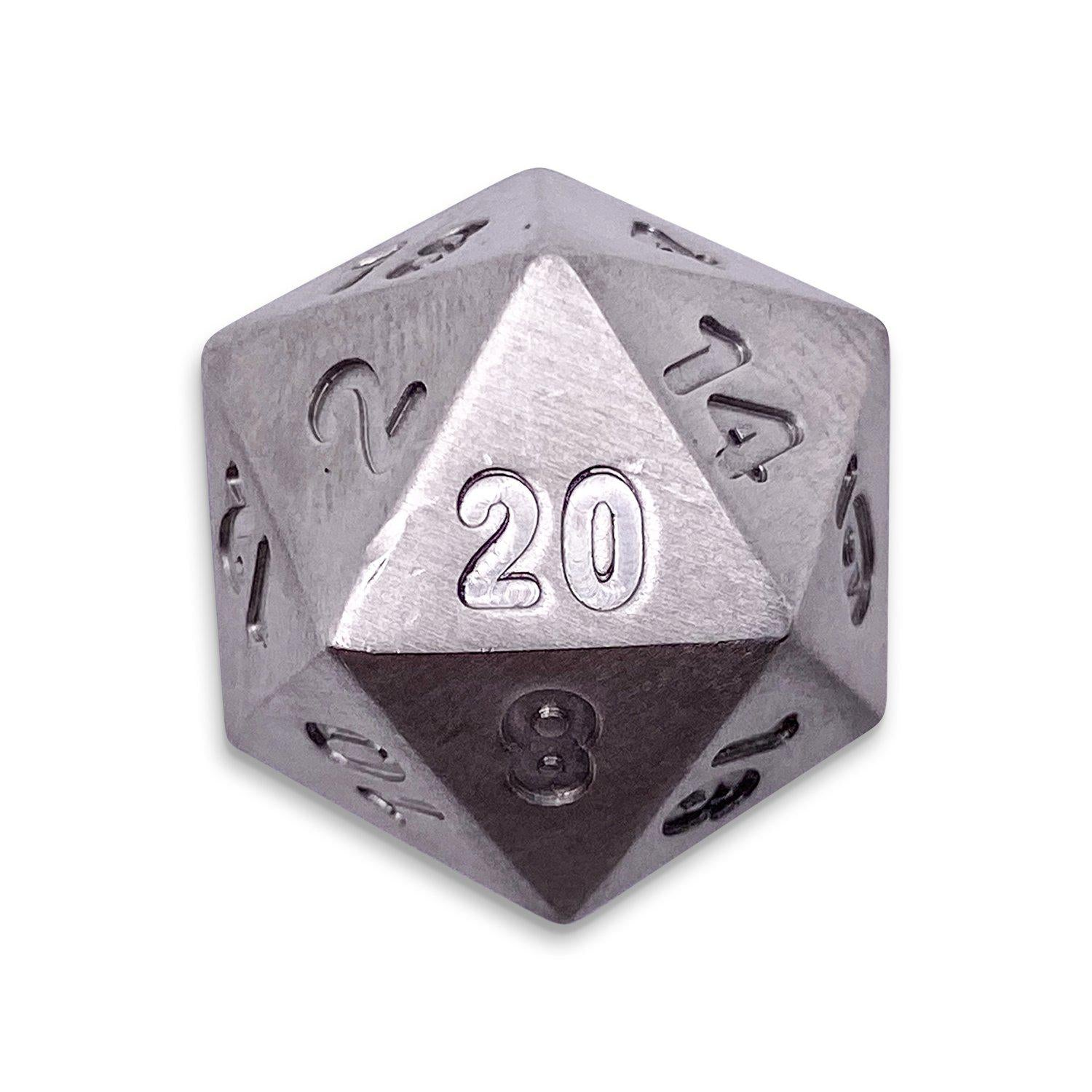 Single D20 in Stainless by Norse Foundry