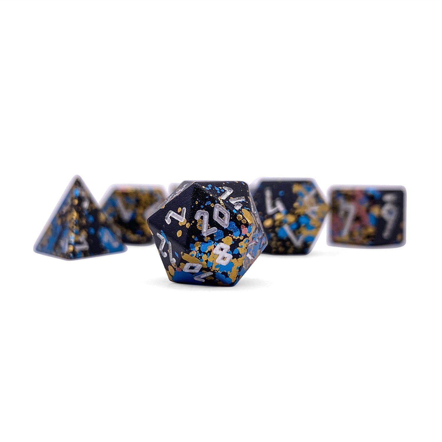 That 70s Die Wondrous Pebble ™ Dice - 10mm 6063 Aircraft Grade Aluminum Mini