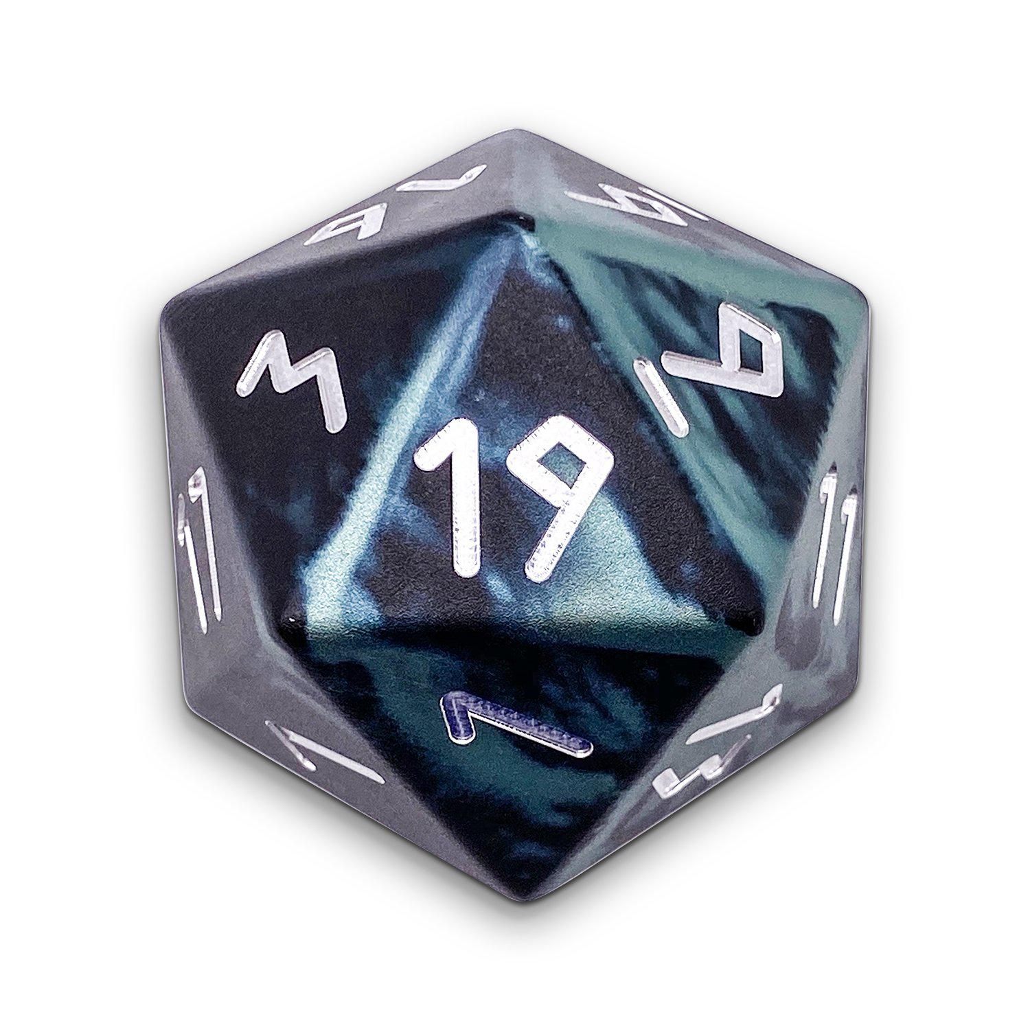 Trolls Blood - Wondrous Boulder® 55mm D20 6063 Aircraft Grade Aluminum Metal Die