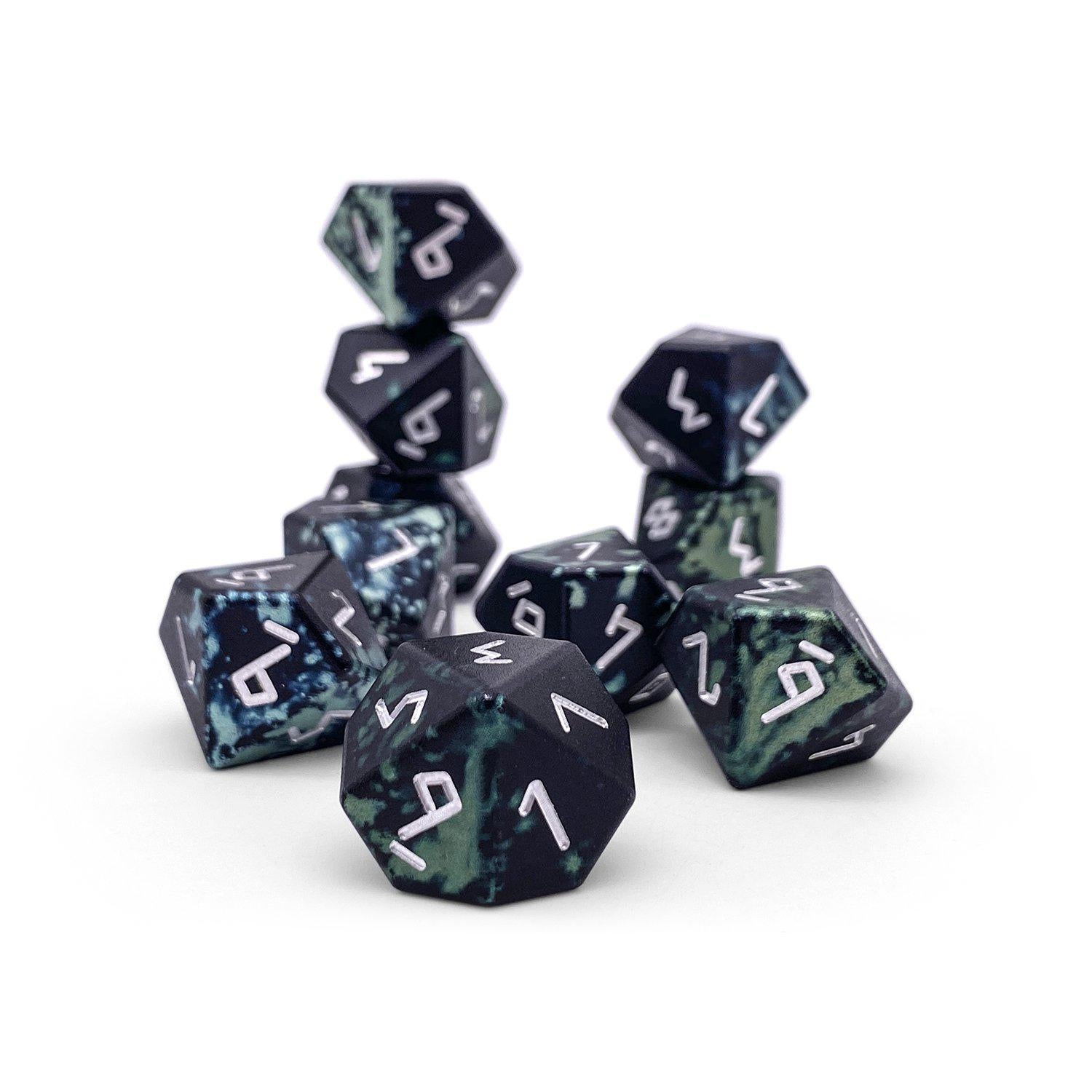 Trolls Blood - Set of 10 D10s - Wondrous Dice