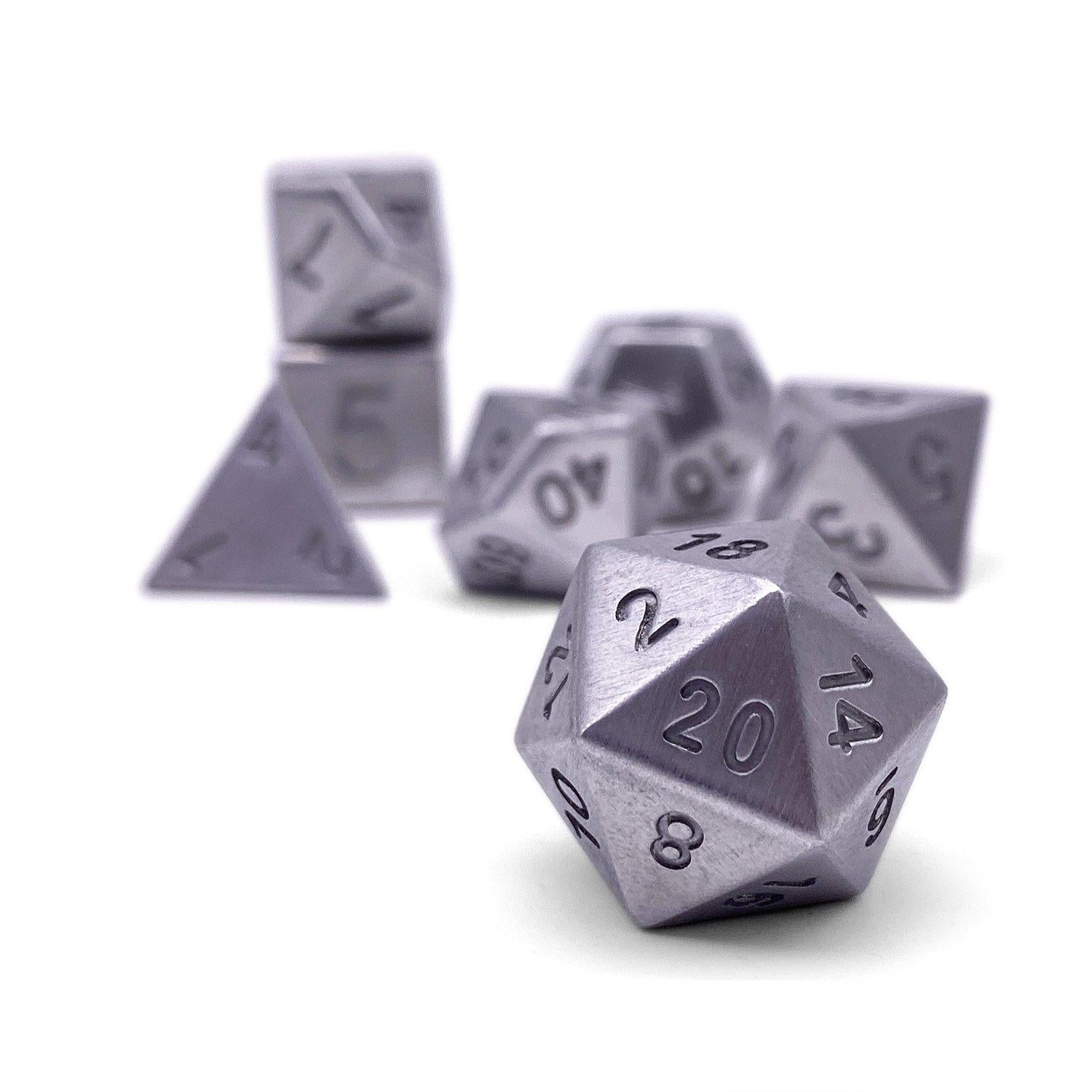 16mm Norse Foundry Tungsten Polyhedral Dice Set