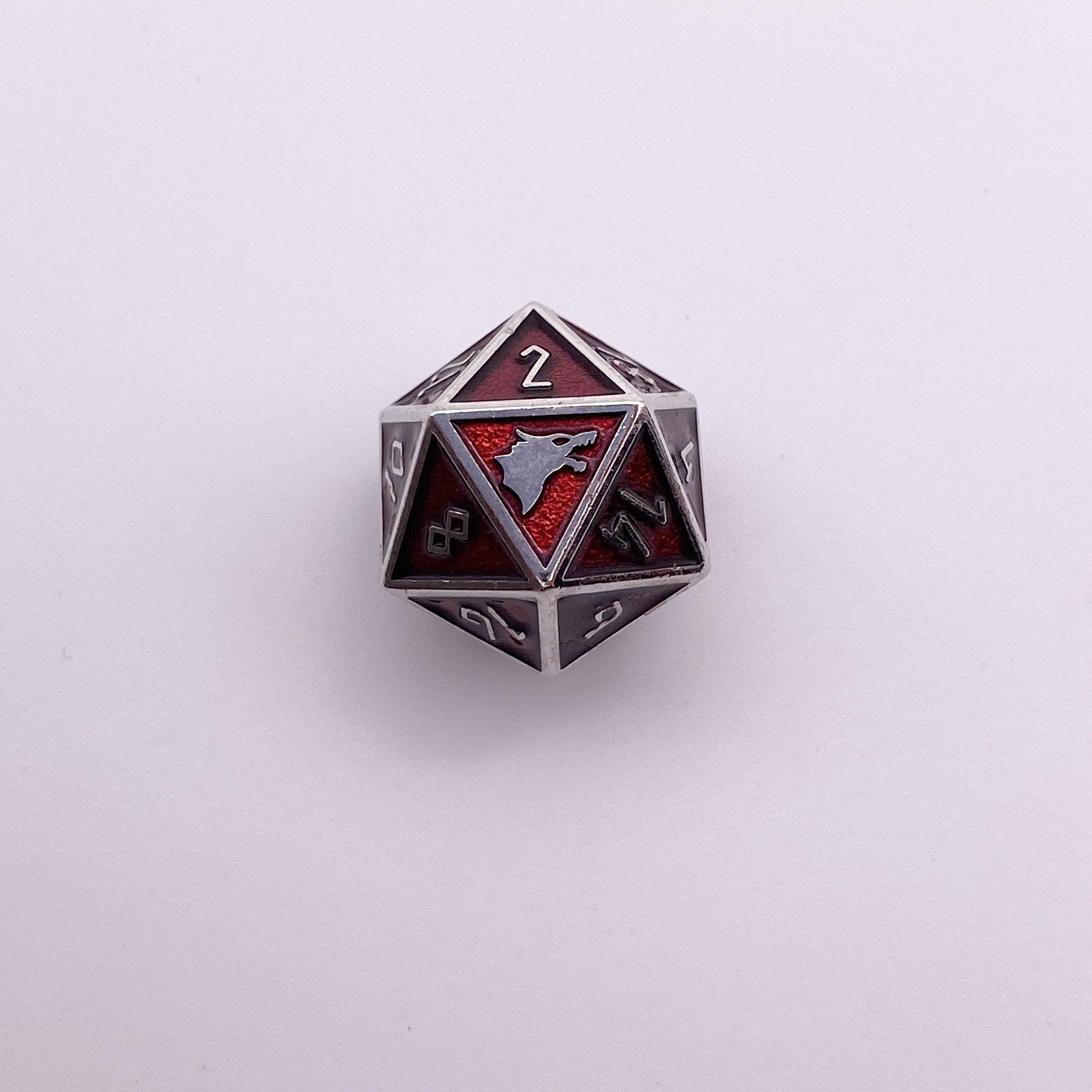 Vampire Blood - Norse Themed Metal D20