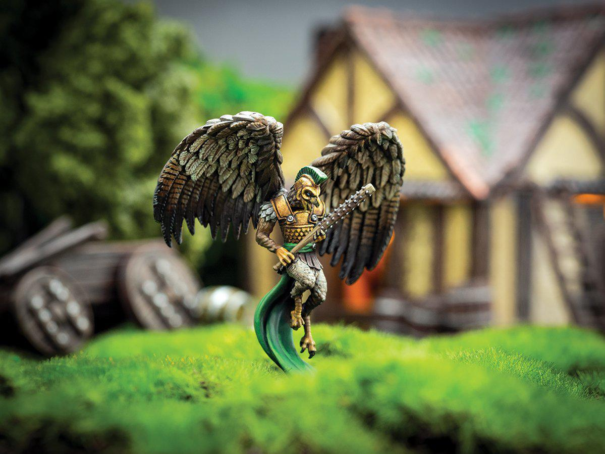 Vettius - Hawkkind Heavy Armored 28mm Miniature by Adventurers & Adversaries