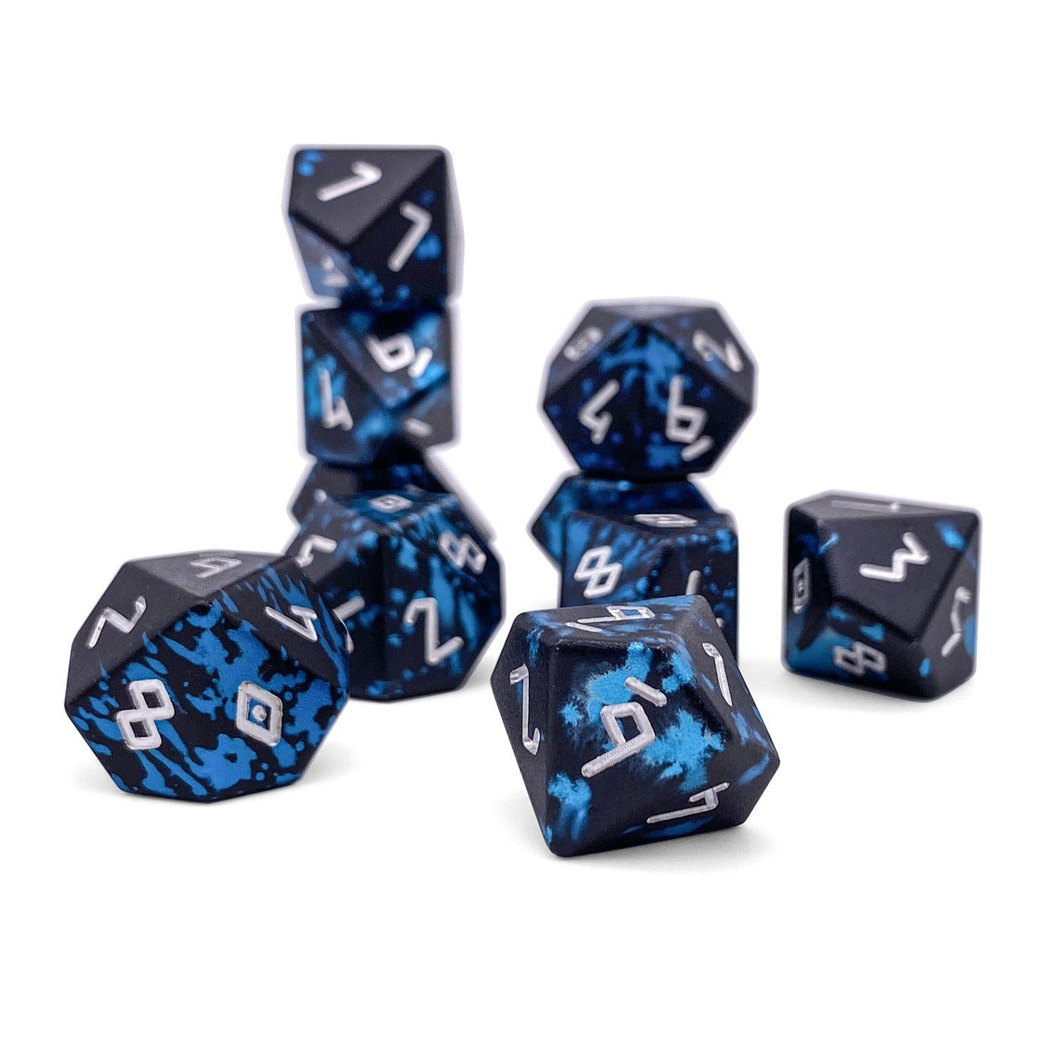 Willow O' Wisp - Set of 10 D10s - Wondrous Dice