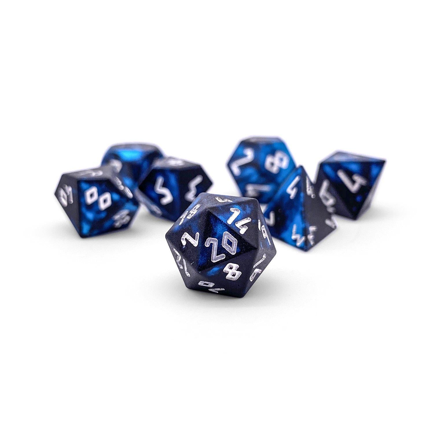 Willow of the Wisp Wondrous Pebble ™ Dice - 10mm 6063 Aircraft Grade Aluminum Mini