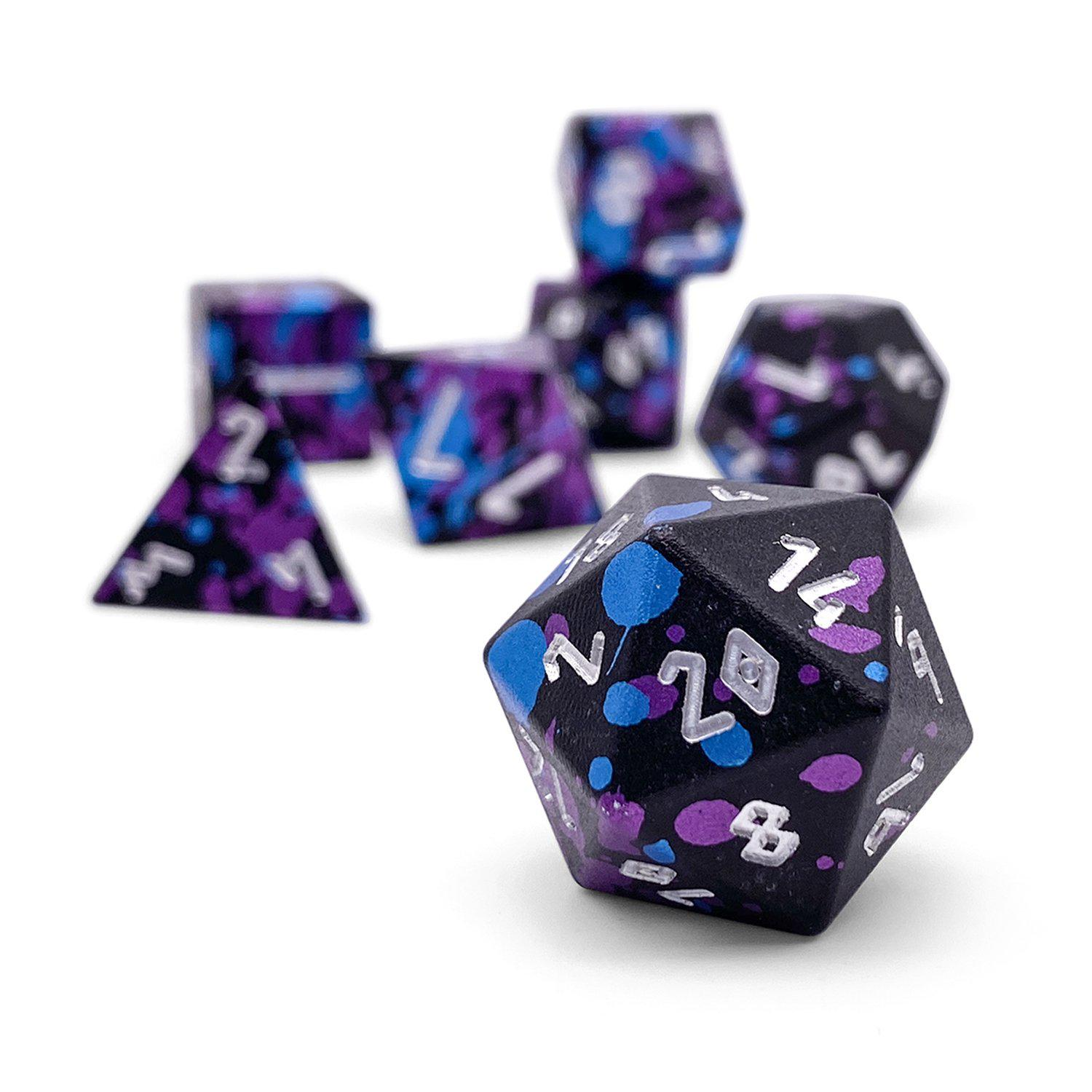 Wizard Apprentice - Wondrous Dice Set of 7 RPG Dice by Norse Foundry Precision Polyhedral Dice Set