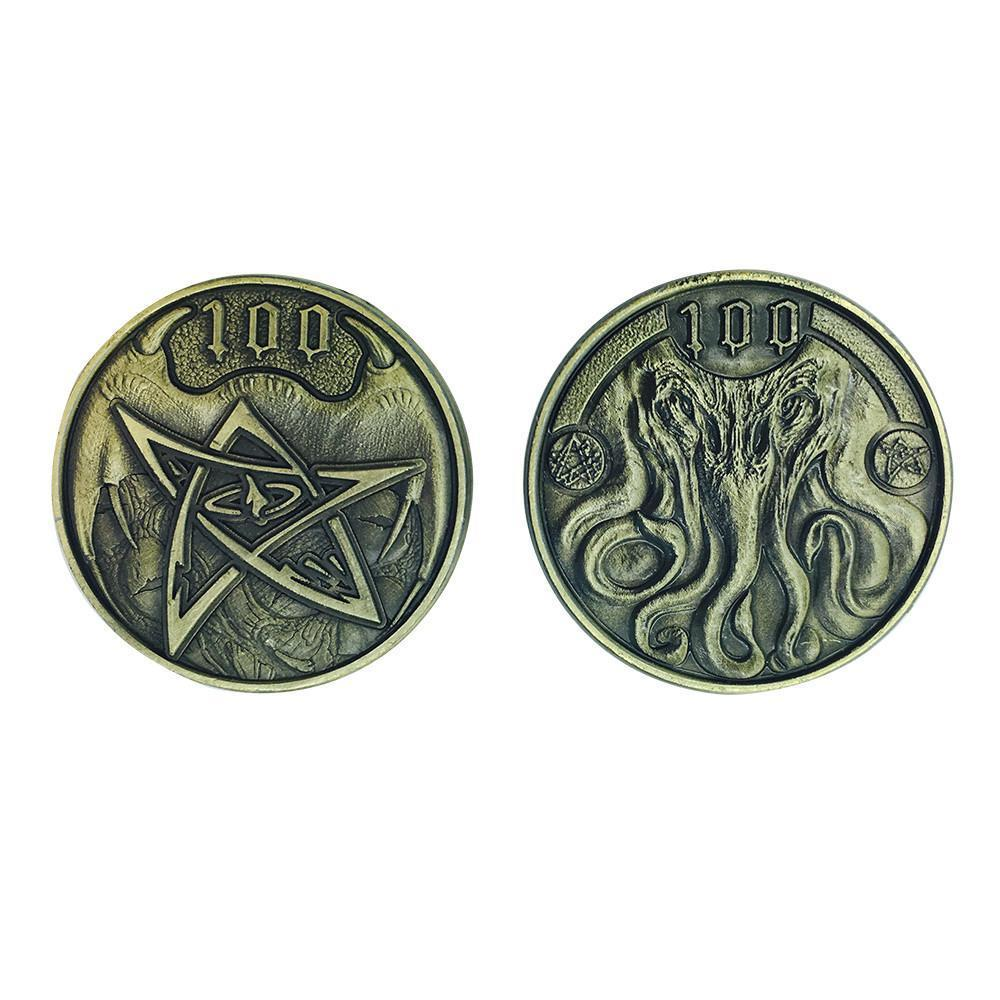 Adventure Coins – Cthulhu Metal Coins Set of 10