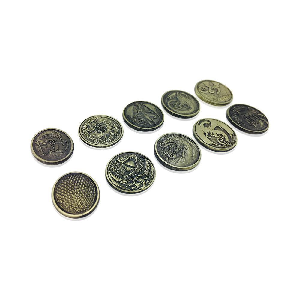 Adventure Coins Dragon Metal Coins Set Of 10 Norse Foundry I'm pushing this review out a little early so. usd