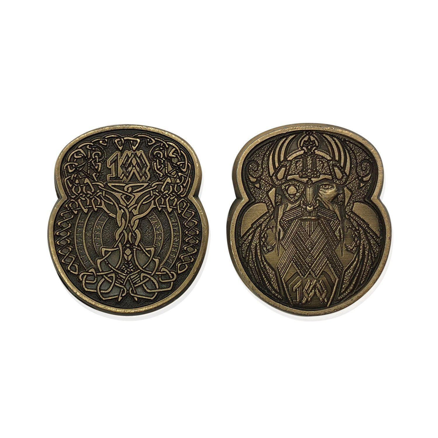 Adventure Coins Norse Metal Coins Set Of 10 Norse Foundry Free shipping on all orders over $75. usd