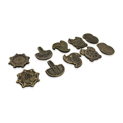 Adventure Coins - Norse Metal Coins Set of 10-Coins-Norse Foundry-DND Dice-Polyhedral Dice-D20-Metal Dice-Precision Dice-Luxury Dice-Dungeons and Dragons-D&D-