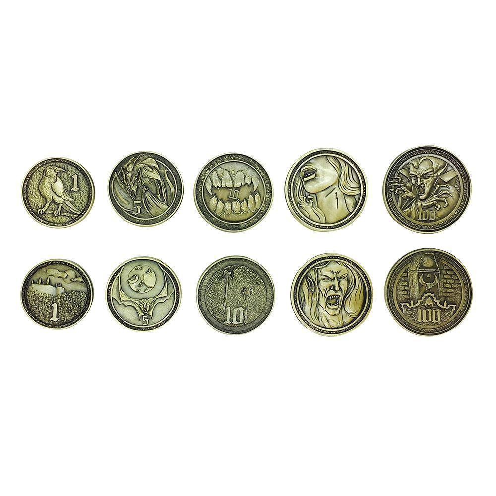 Adventure Coins – Vampire Metal Coins Set of 10