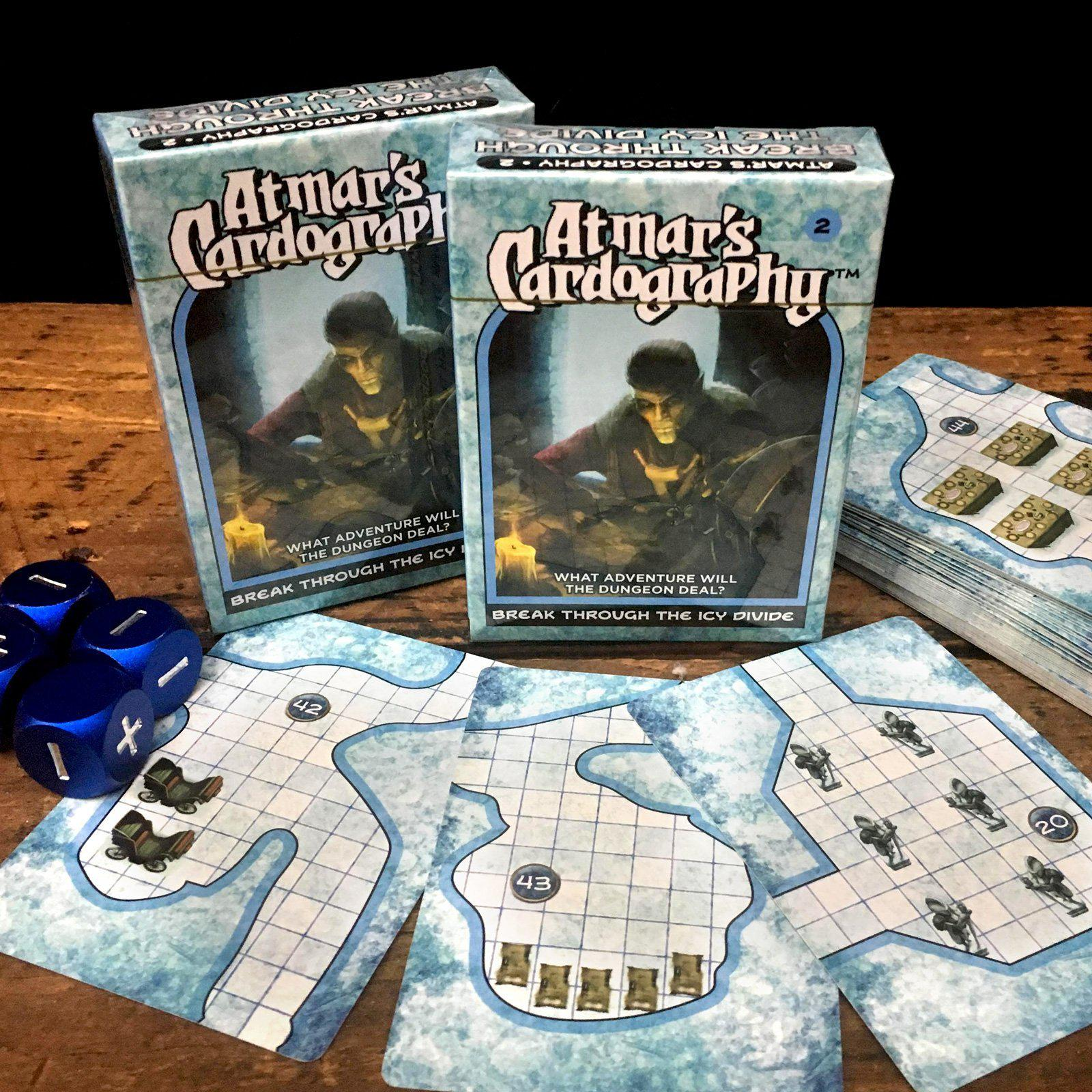 Atmar's Cardography - 5E and Fate Module in a Deck of Cards Random Dungeon  Generator