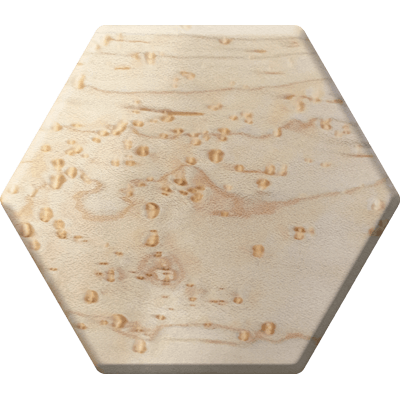 Birdseye Maple Elderwood Hex Chest-Hex Chests-Norse Foundry-DND Dice-Polyhedral Dice-D20-Metal Dice-Precision Dice-Luxury Dice-Dungeons and Dragons-D&D-