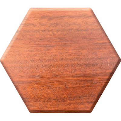 Bloodwood Elderwood Hex Chest-Hex Chests-Norse Foundry-DND Dice-Polyhedral Dice-D20-Metal Dice-Precision Dice-Luxury Dice-Dungeons and Dragons-D&D-