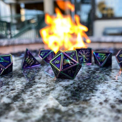 Draugr - Norse Themed Metal Dice Set