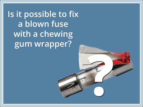 Safety Precautions When Fixing a Blown Fuse With a Chewing