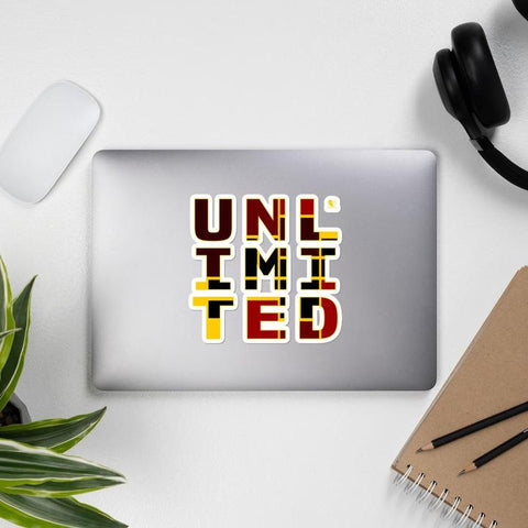 [Unlimited [UNL IMI TED] ] Bubble-free stickers