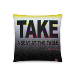 A Seat At The Table | Accent Pillow