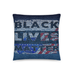 Black Live Matter | Accent Pillow - THESPIAN HEART CLOTHING