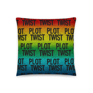 Plot Twist | Accent  Pillow - THESPIAN HEART CLOTHING